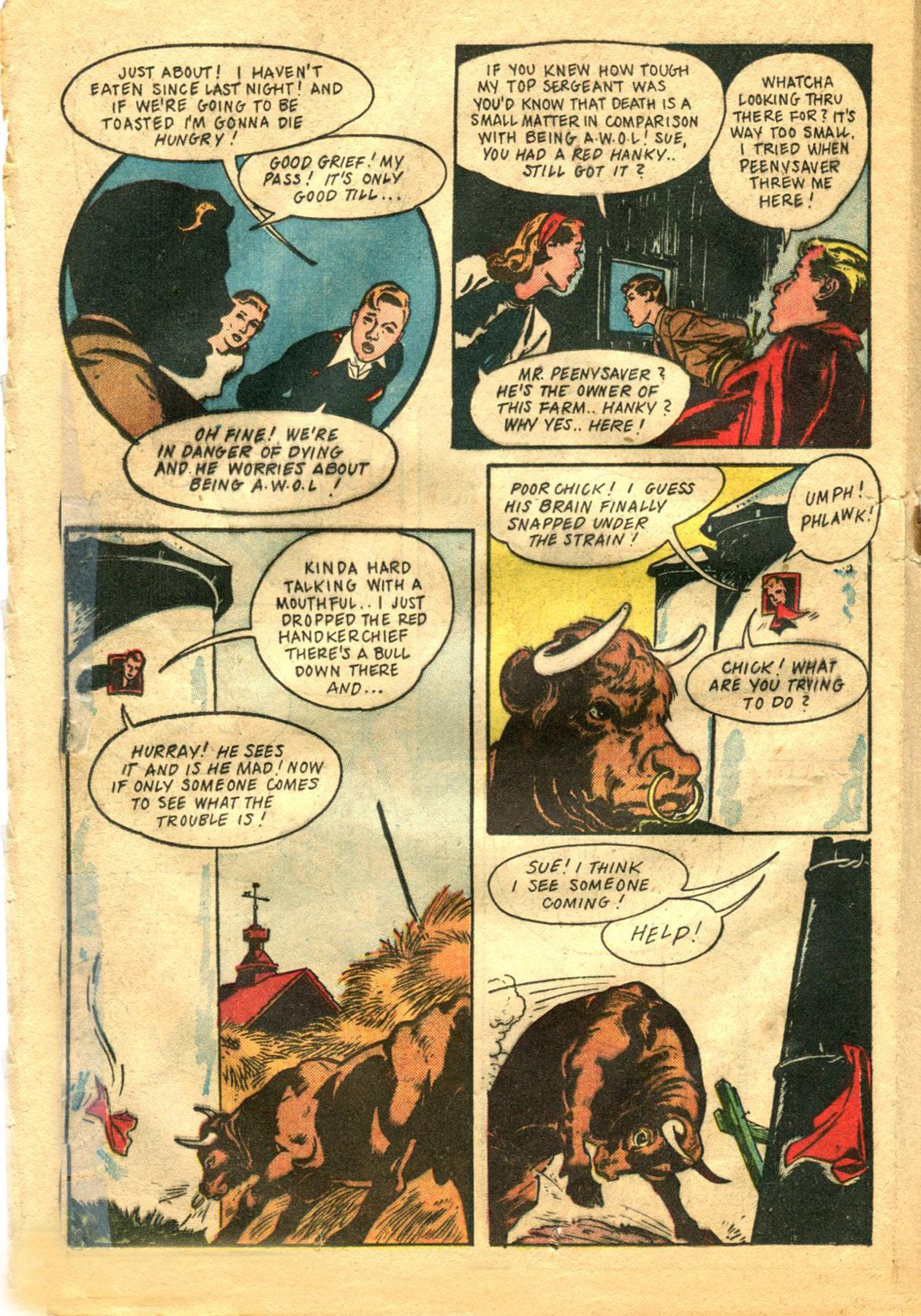 Read online Shadow Comics comic -  Issue #48 - 26