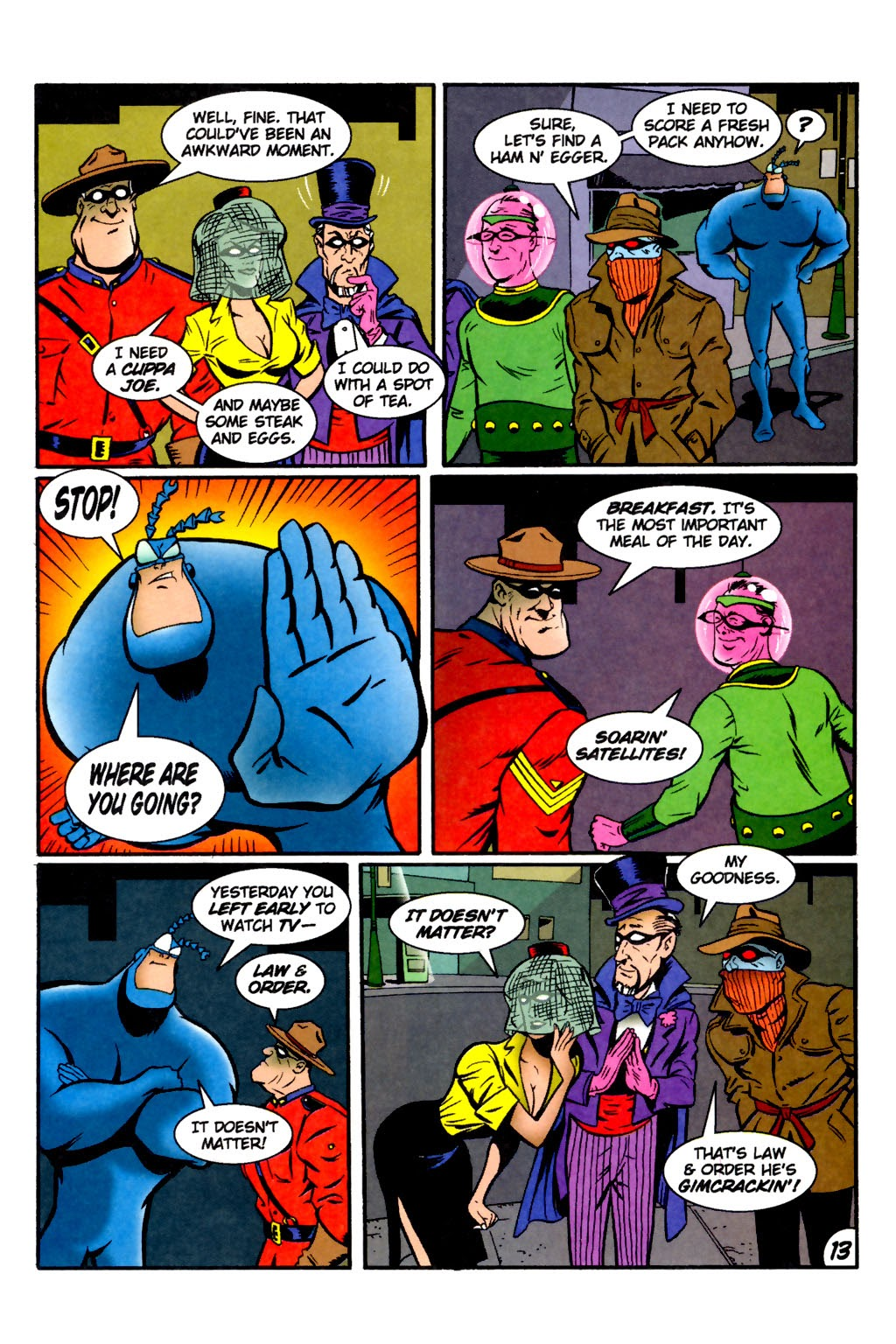 Read online The Tick: Days of Drama comic -  Issue #2 - 15