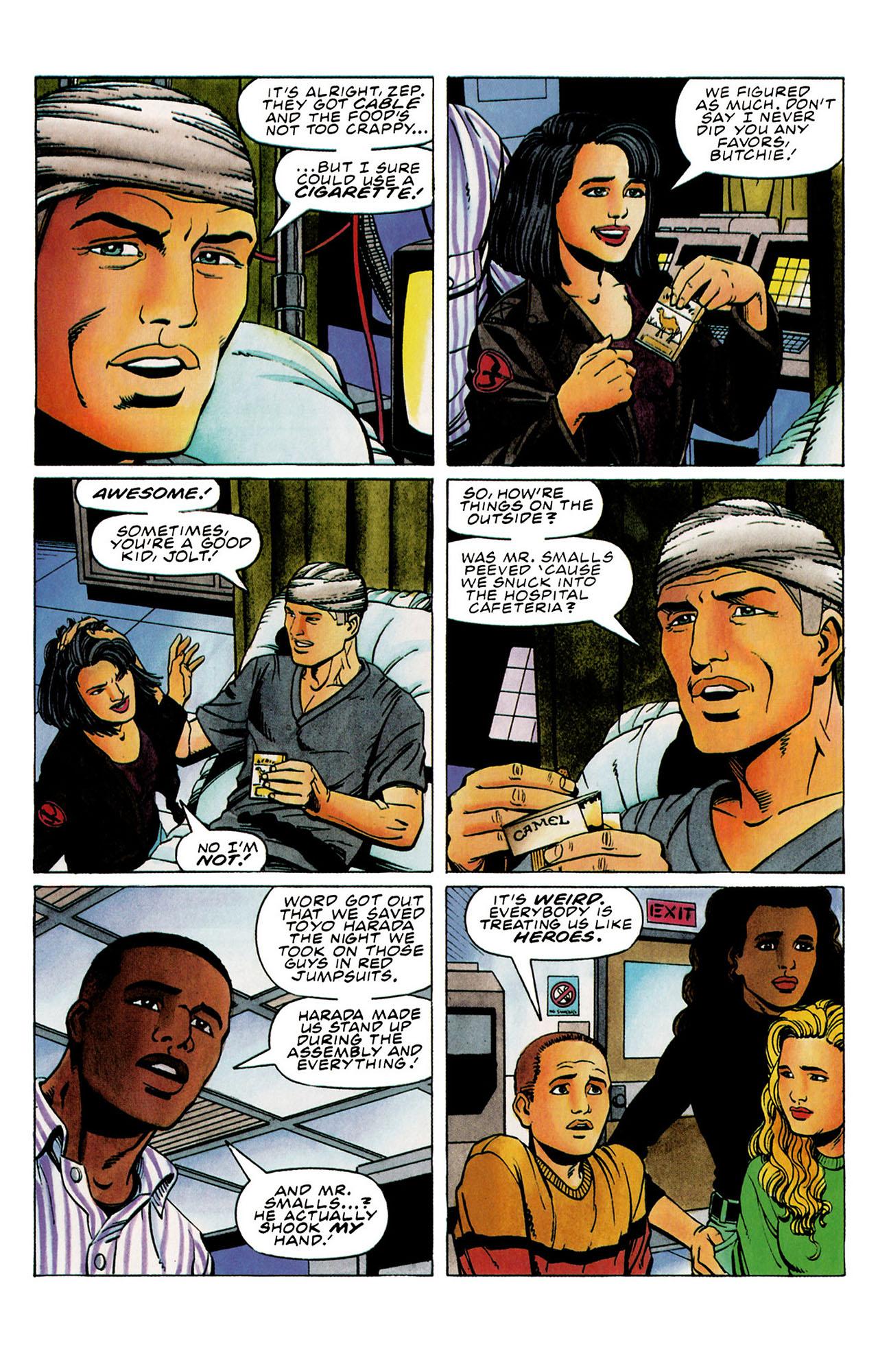 Read online Harbinger (1992) comic -  Issue #31 - 7