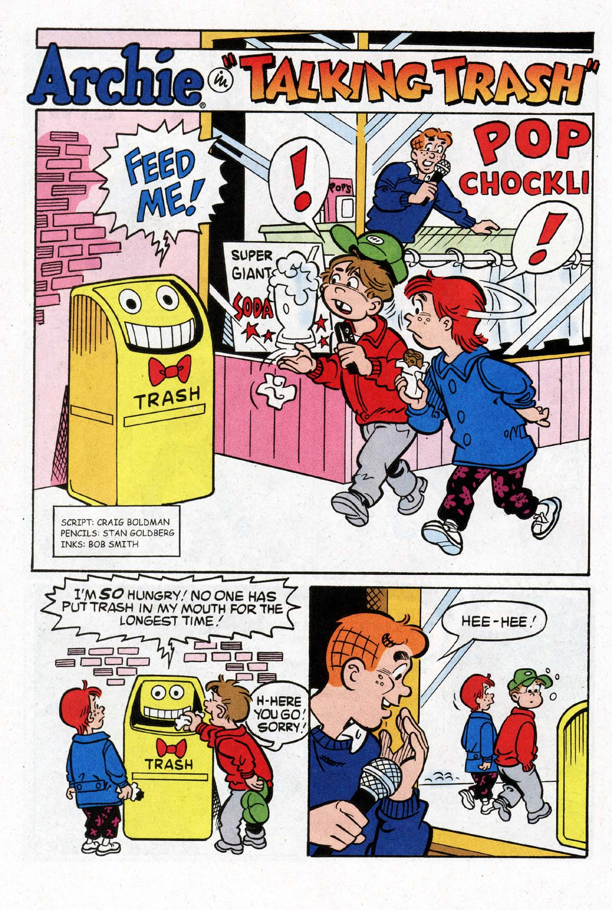 Read online Archie (1960) comic -  Issue #529 - 22