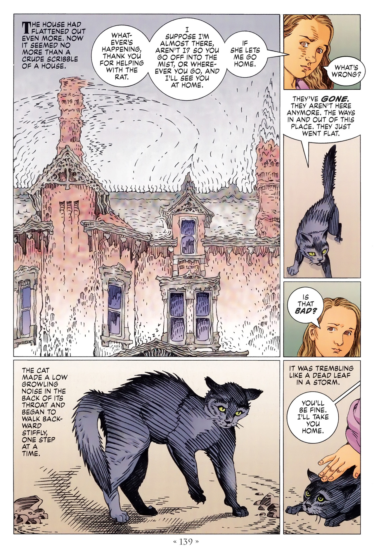 Read online Coraline comic -  Issue #1 - 145