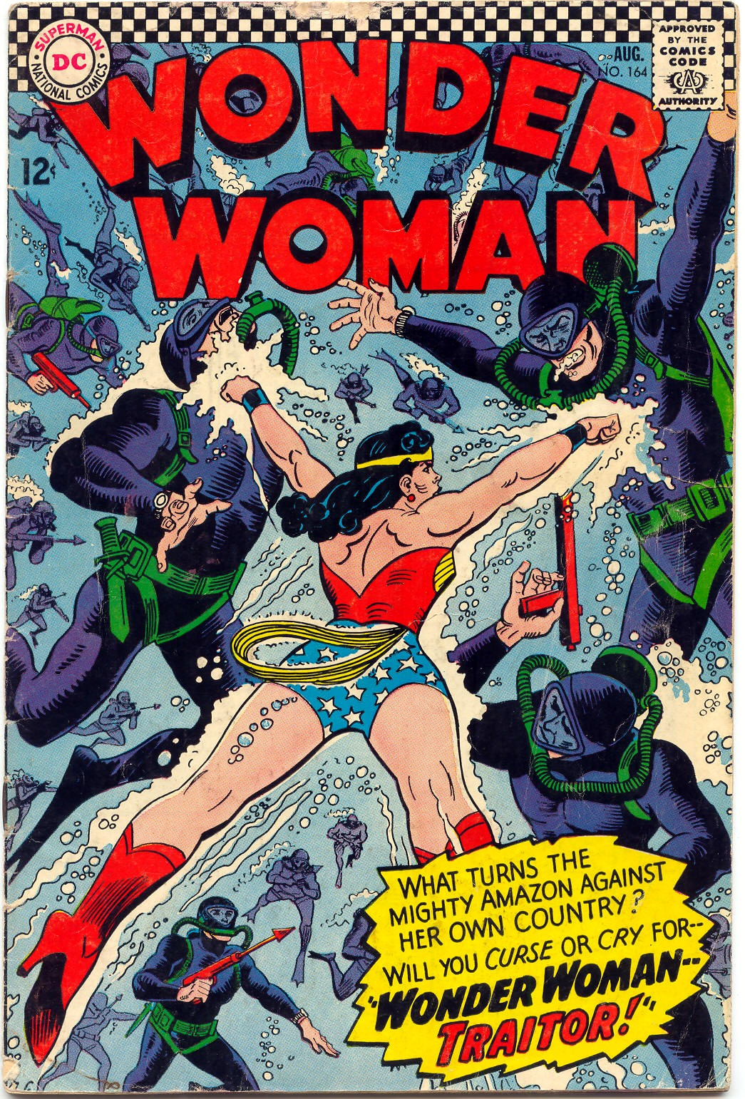 Read online Wonder Woman (1942) comic -  Issue #164 - 1