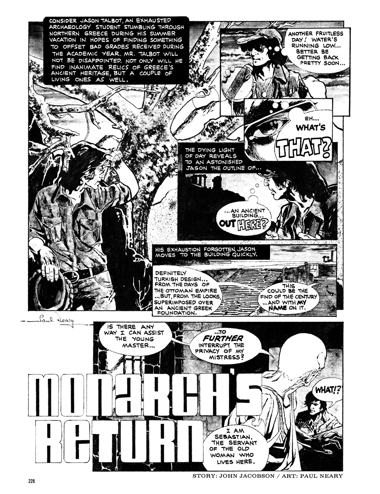 Read online Eerie Archives comic -  Issue # TPB 10 - 229