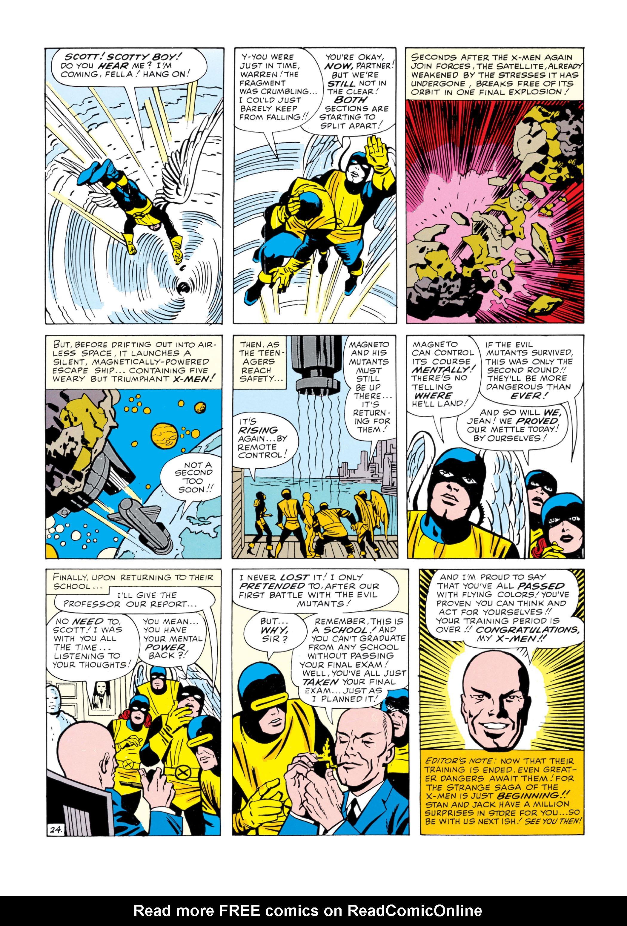Read online Uncanny X-Men (1963) comic -  Issue #5 - 25