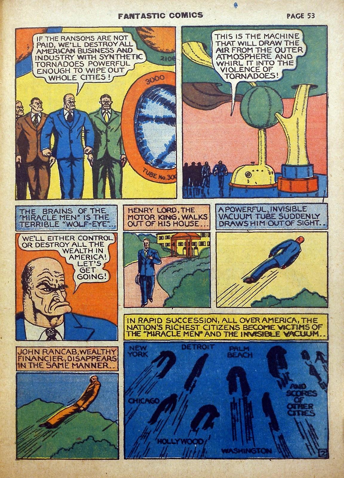 Read online Fantastic Comics comic -  Issue #5 - 54
