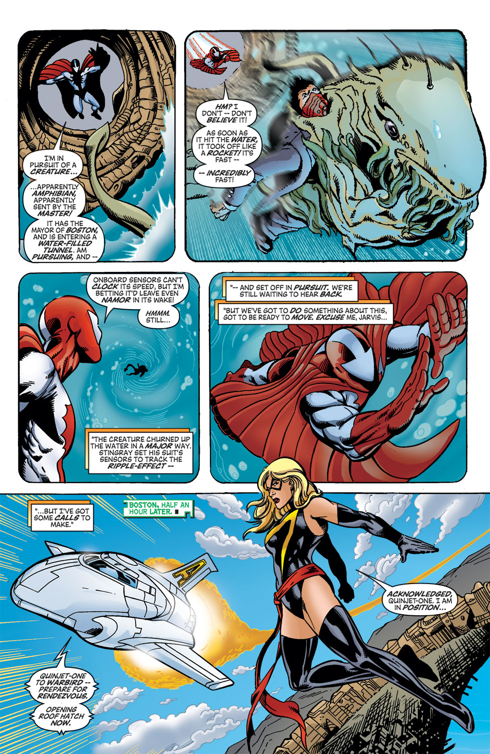 Read online Avengers (1998) comic -  Issue #46 - 8