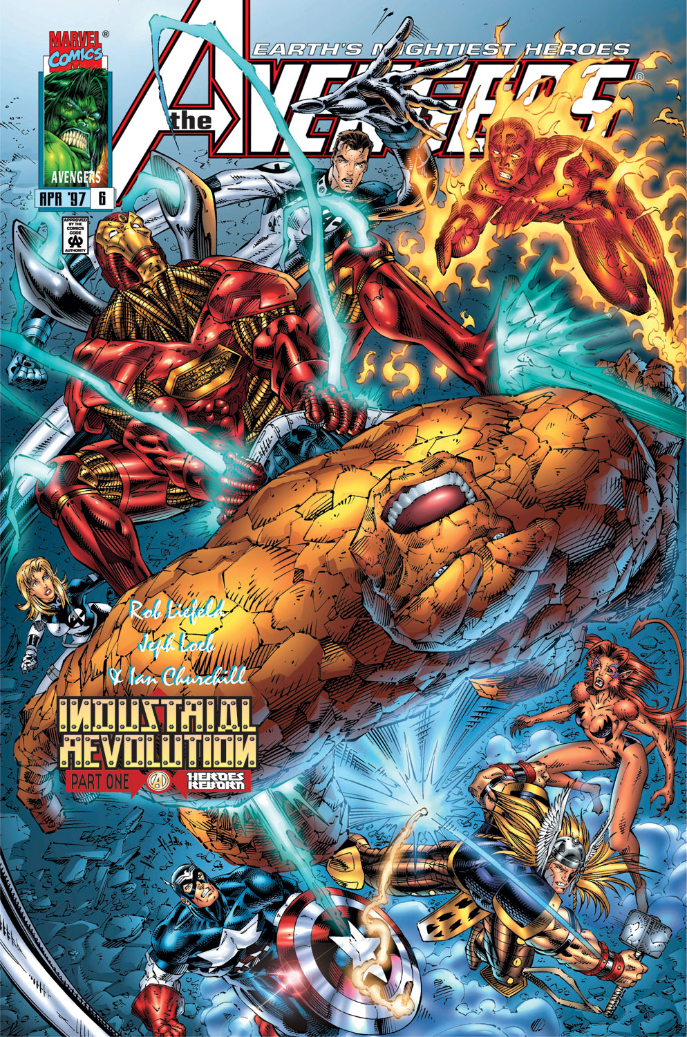 Read online Avengers (1996) comic -  Issue #6 - 1