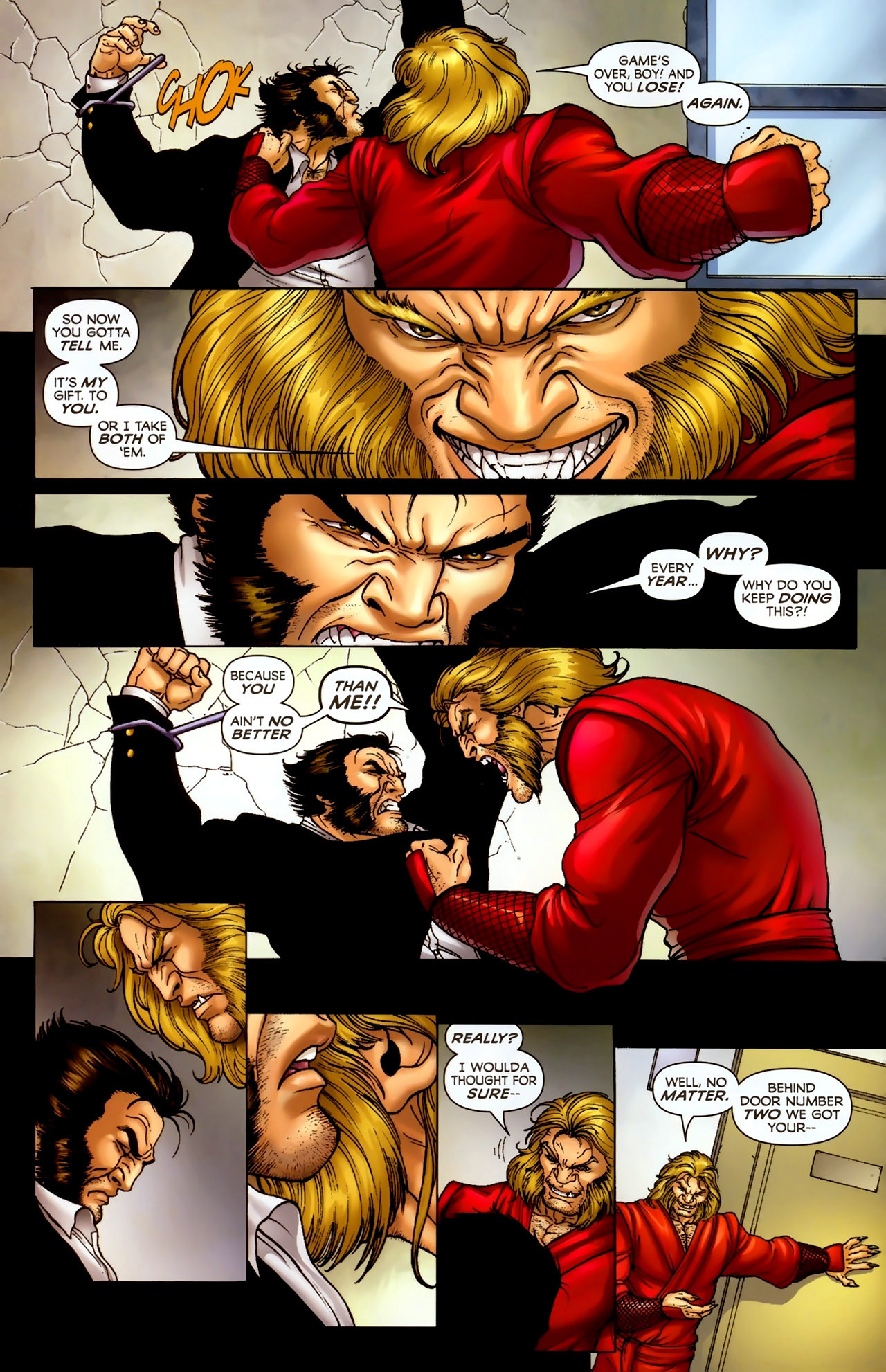 Read online Wolverine: First Class comic -  Issue #2 - 19