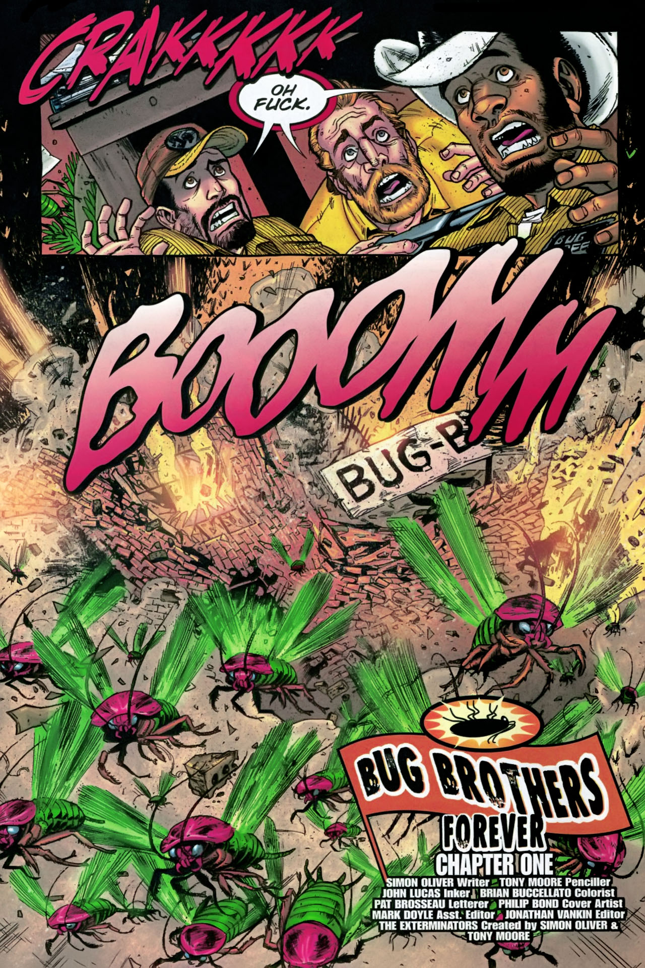 Read online The Exterminators comic -  Issue #28 - 23