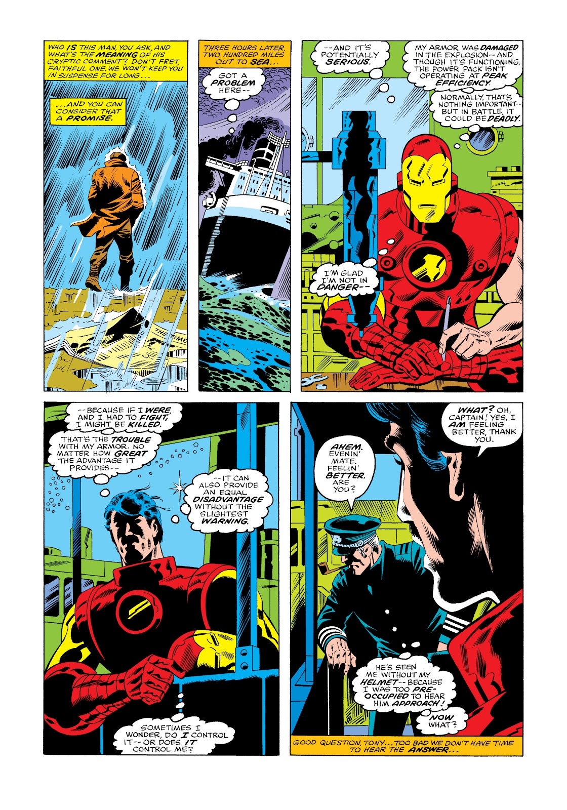 Read online Marvel Masterworks: The Invincible Iron Man comic -  Issue # TPB 11 (Part 3) - 53