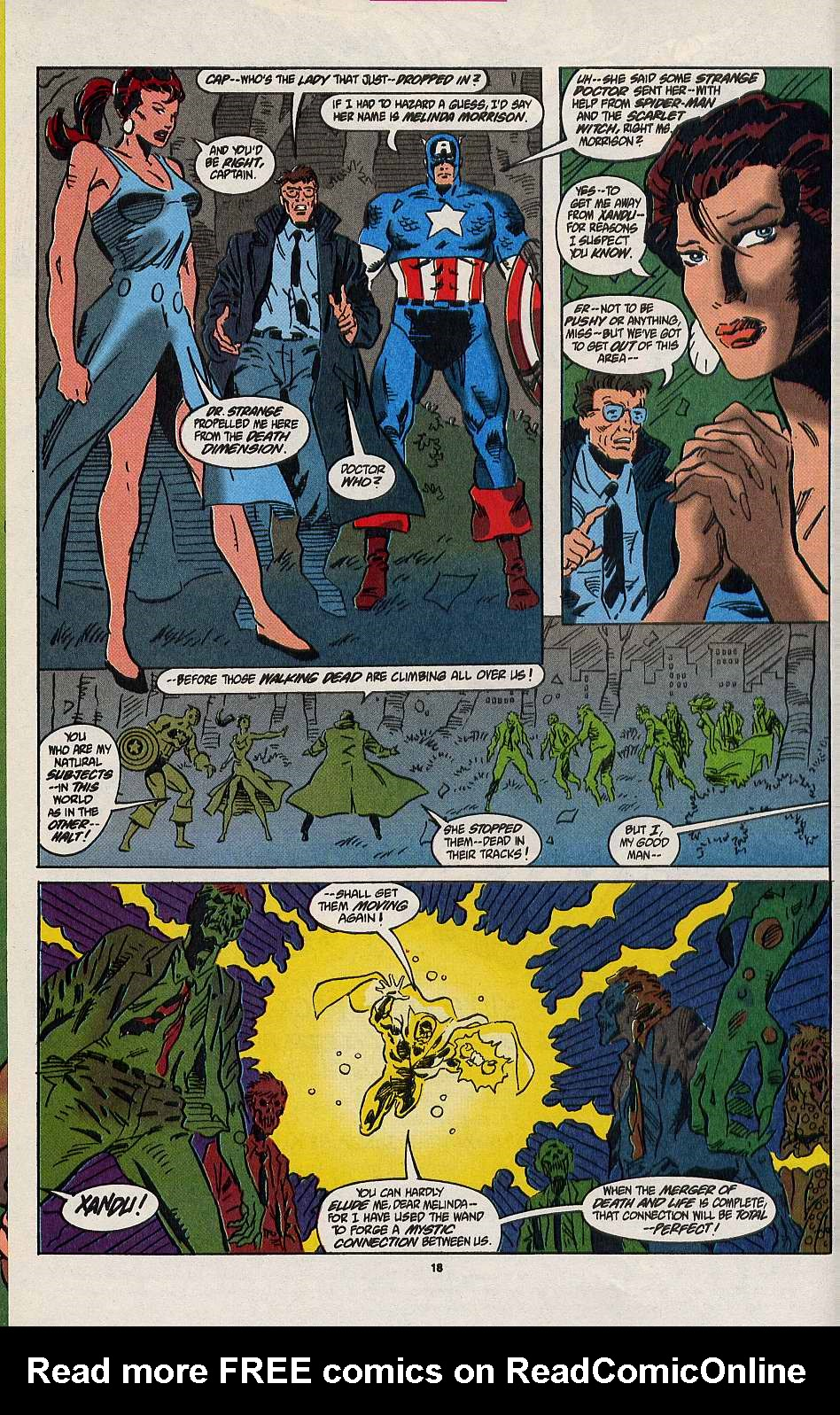 Read online Secret Defenders comic -  Issue #8 - 13