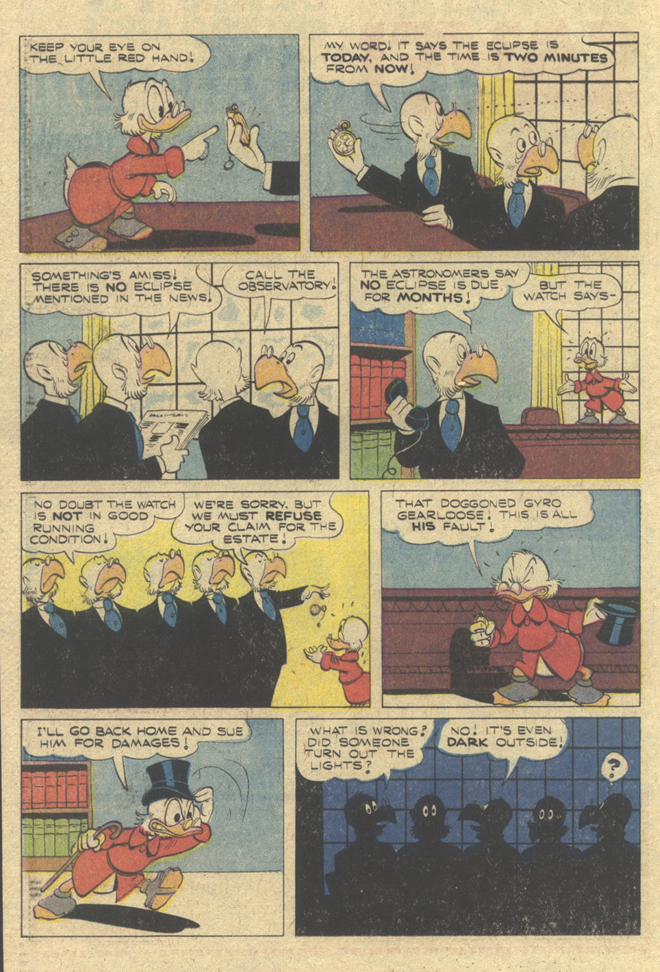 Read online Uncle Scrooge (1953) comic -  Issue #165 - 20