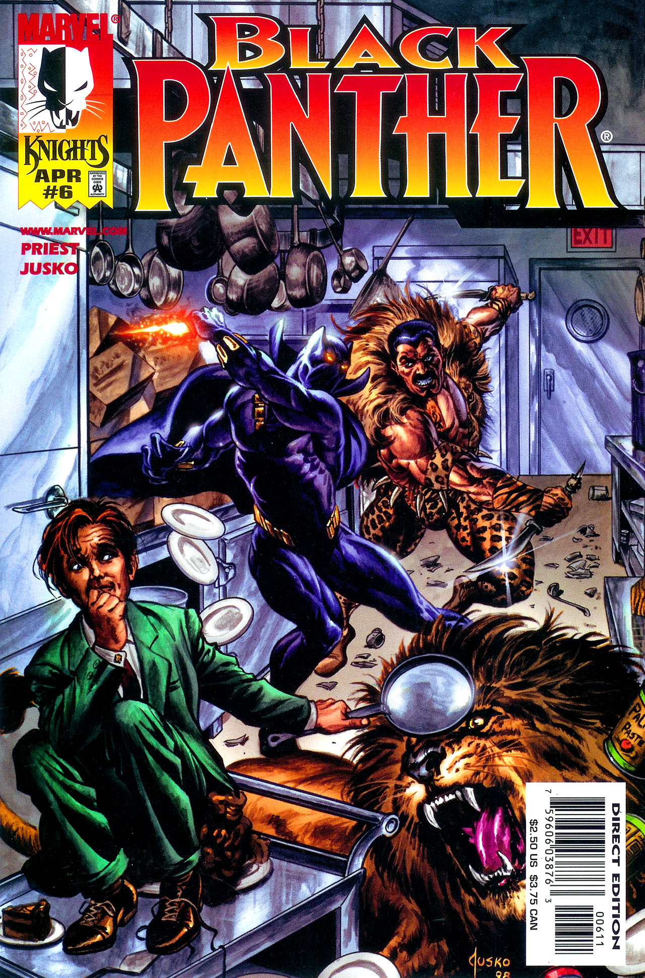 Black Panther (1998) 6 Page 1