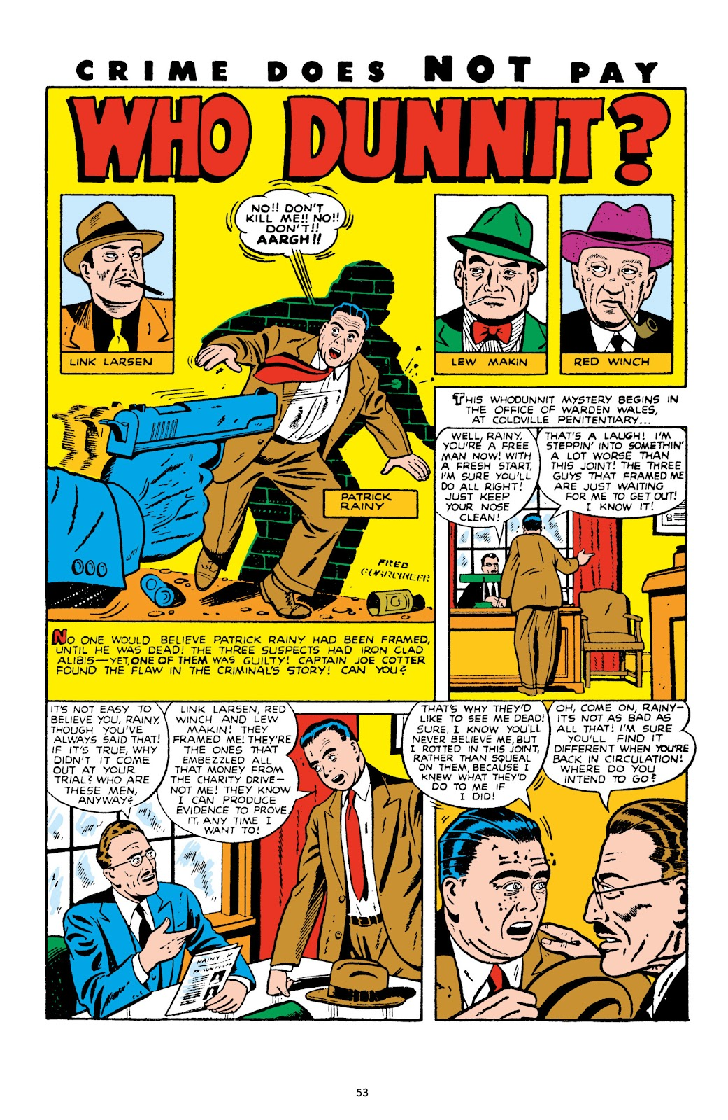Read online Crime Does Not Pay Archives comic -  Issue # TPB 10 (Part 1) - 55