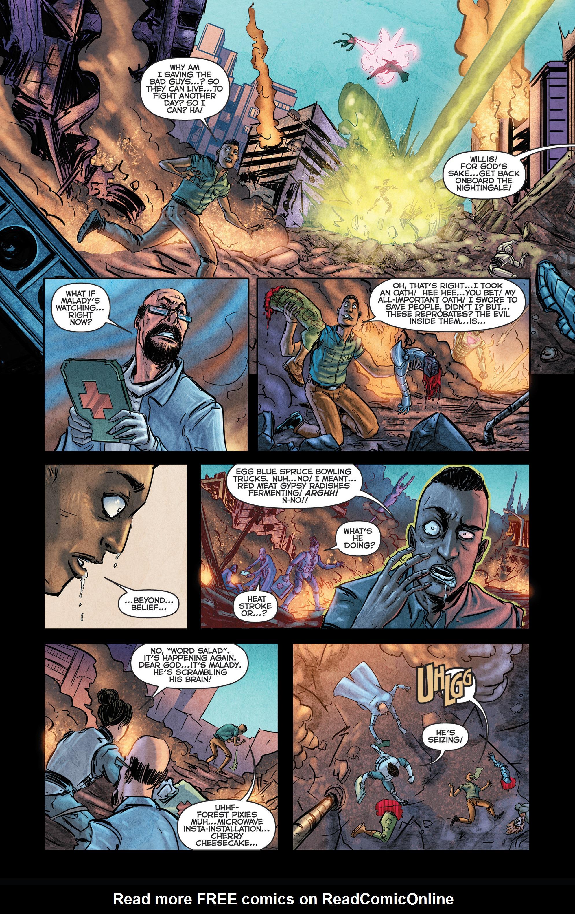 Read online Medisin comic -  Issue #1 - 13