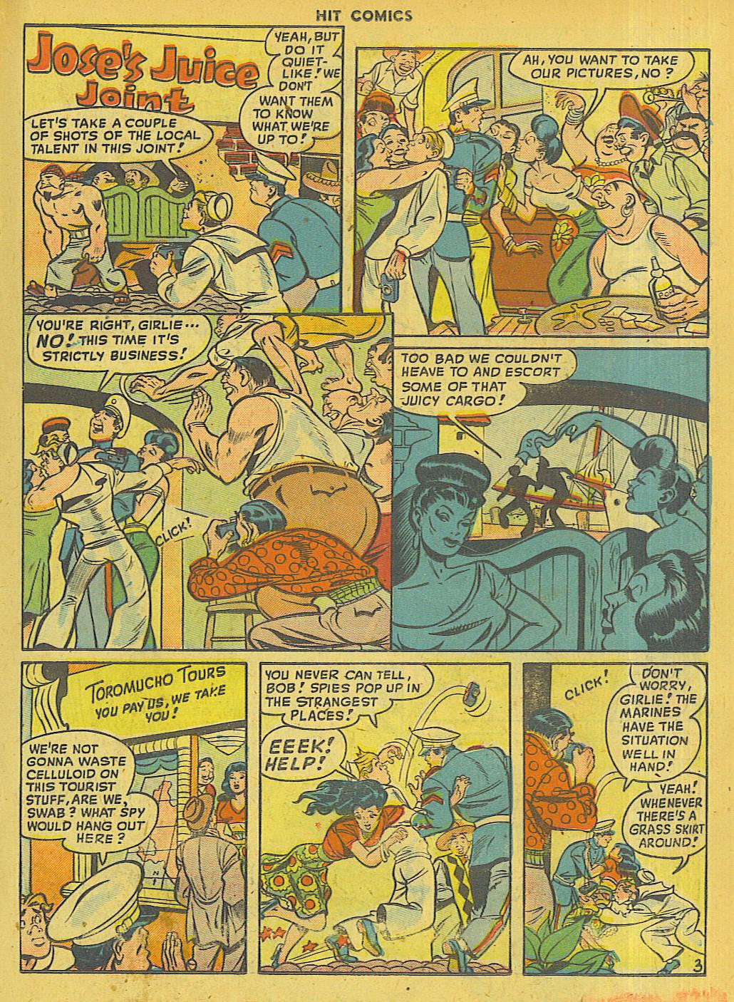 Read online Hit Comics comic -  Issue #56 - 23