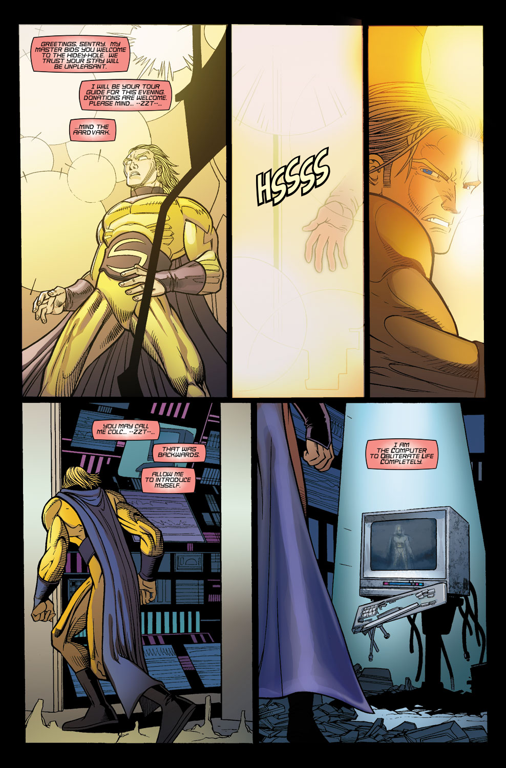 Read online Sentry (2006) comic -  Issue #8 - 4