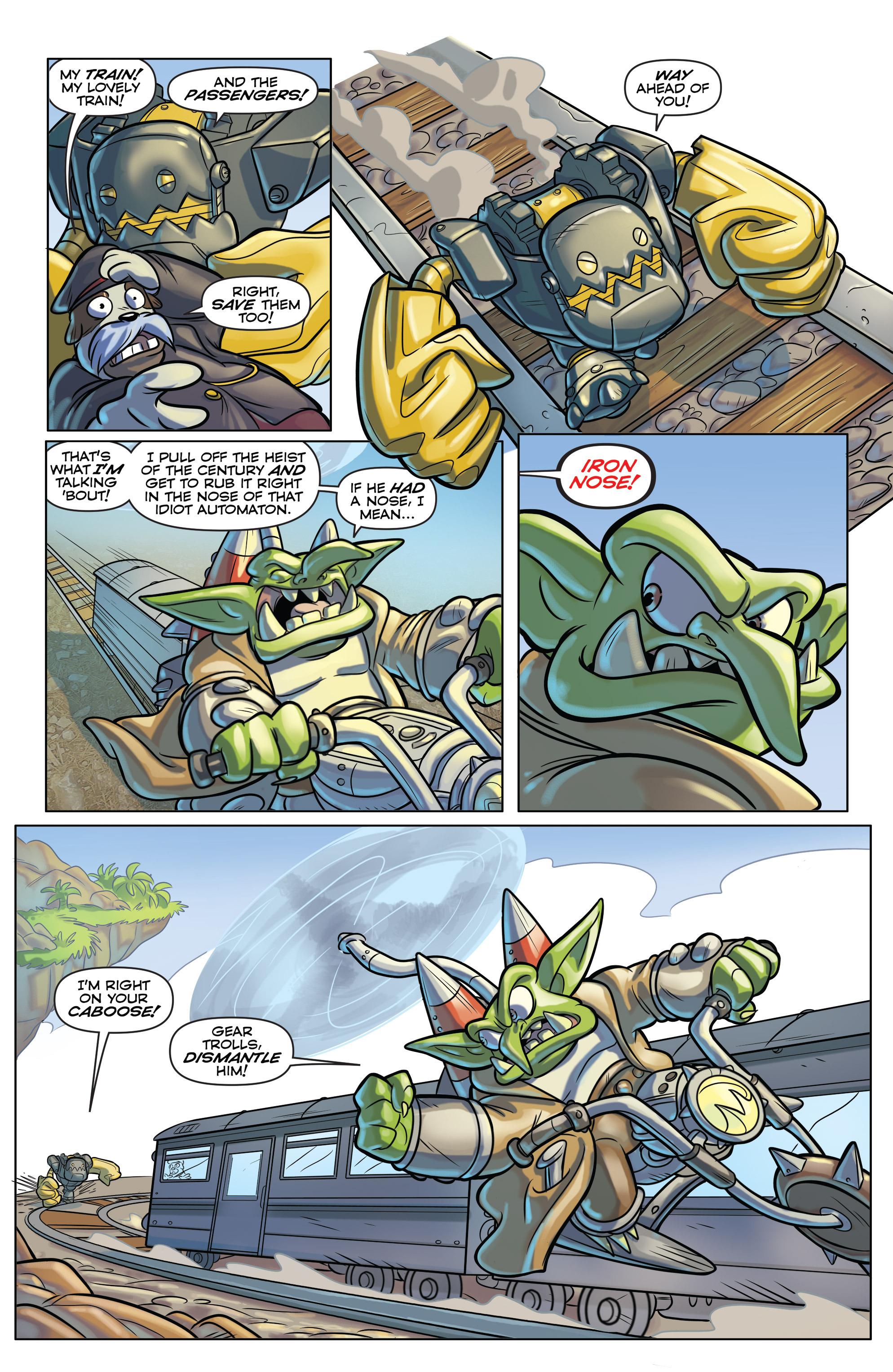 Read online Skylanders comic -  Issue #6 - 9