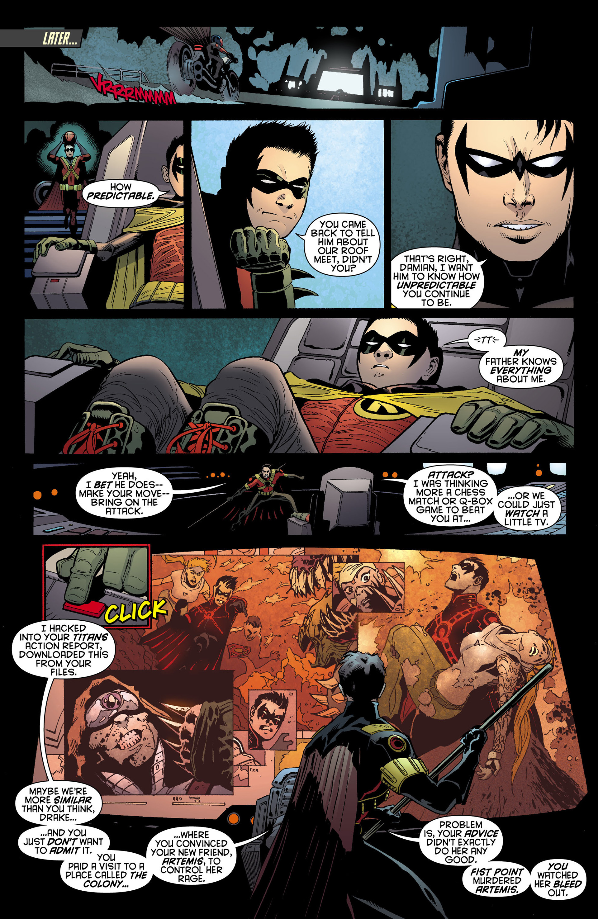 Read online Batman and Robin (2011) comic -  Issue #10 - 15