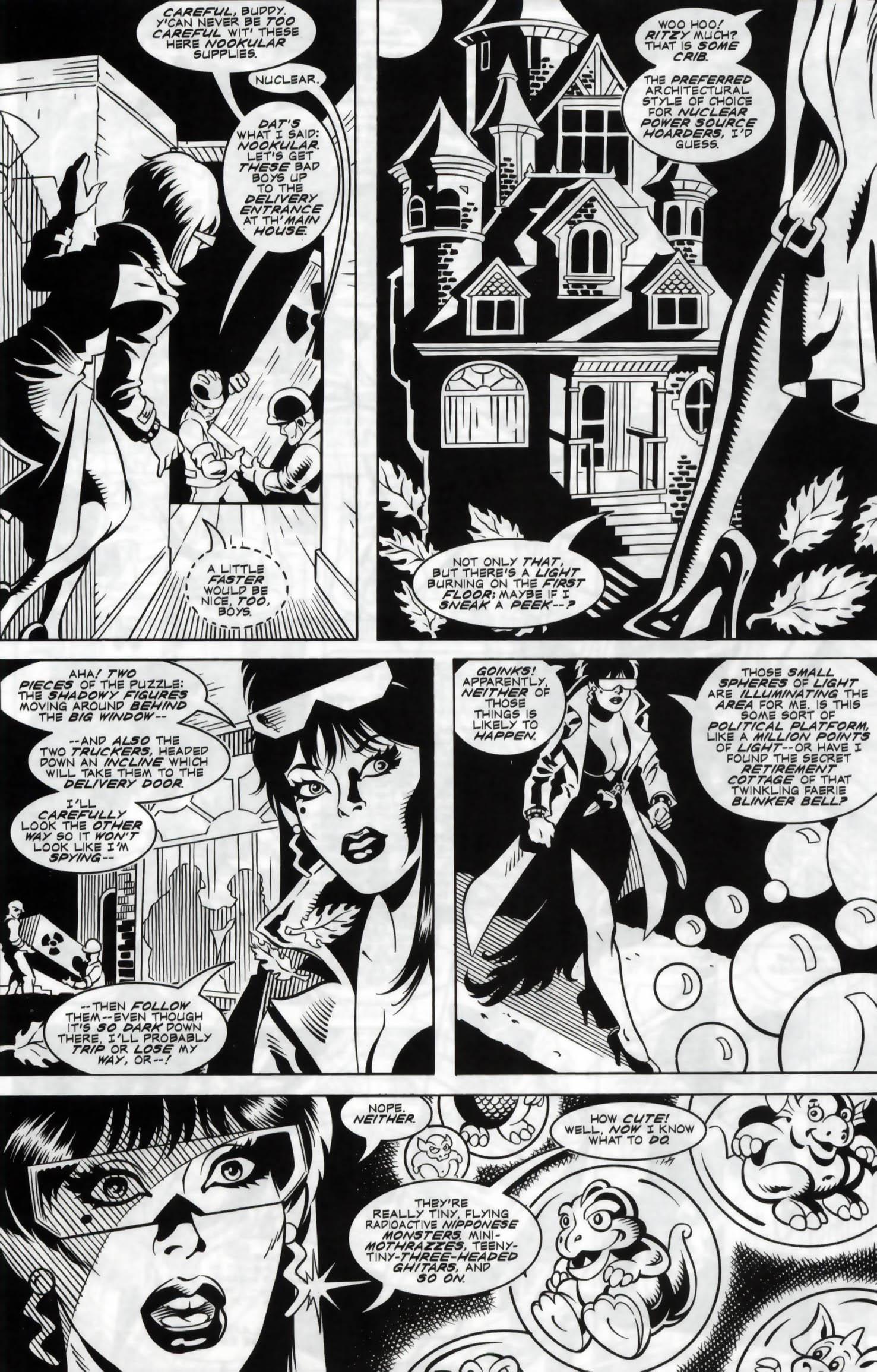 Read online Elvira, Mistress of the Dark comic -  Issue #120 - 23