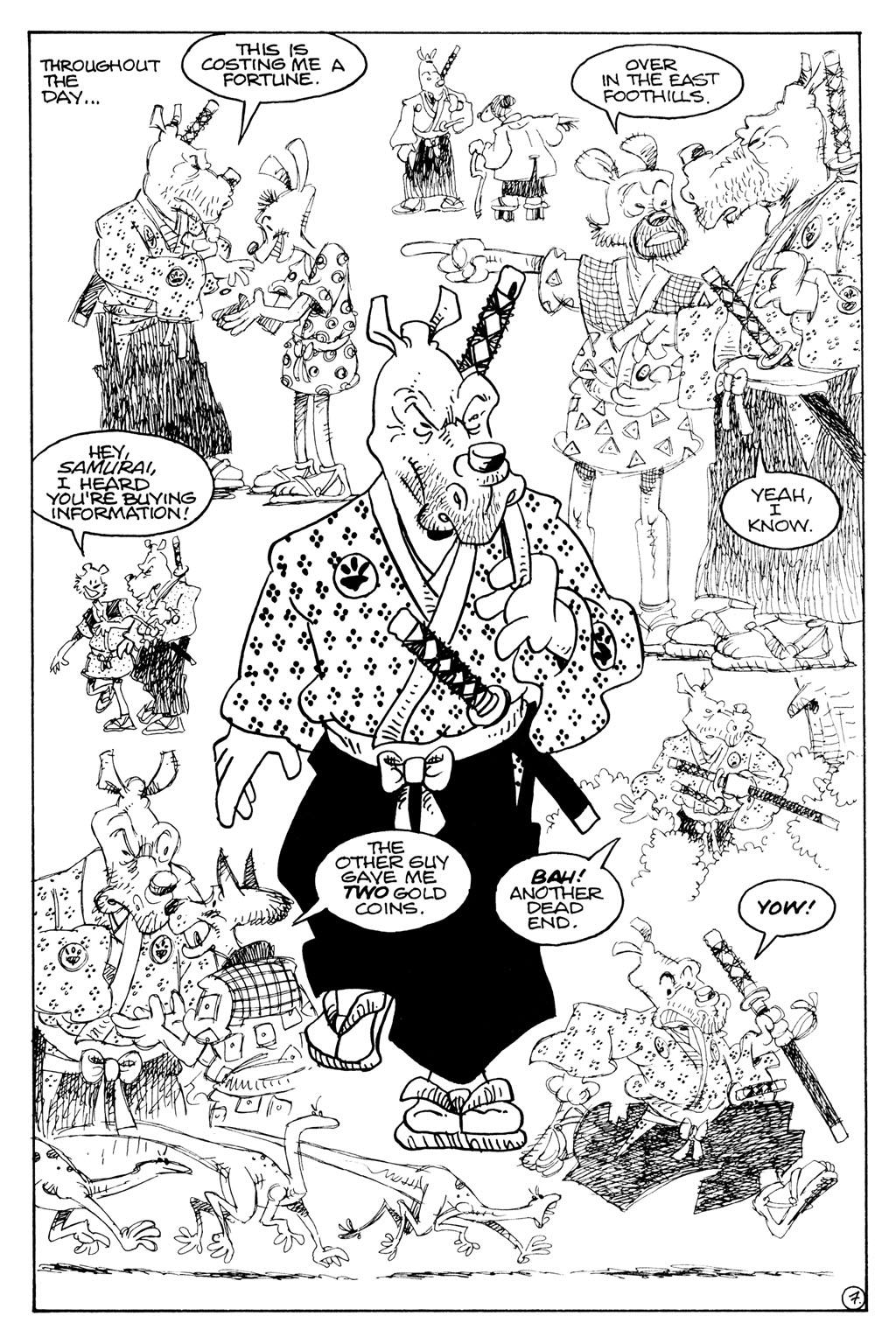 Usagi Yojimbo (1996) Issue #79 #79 - English 17