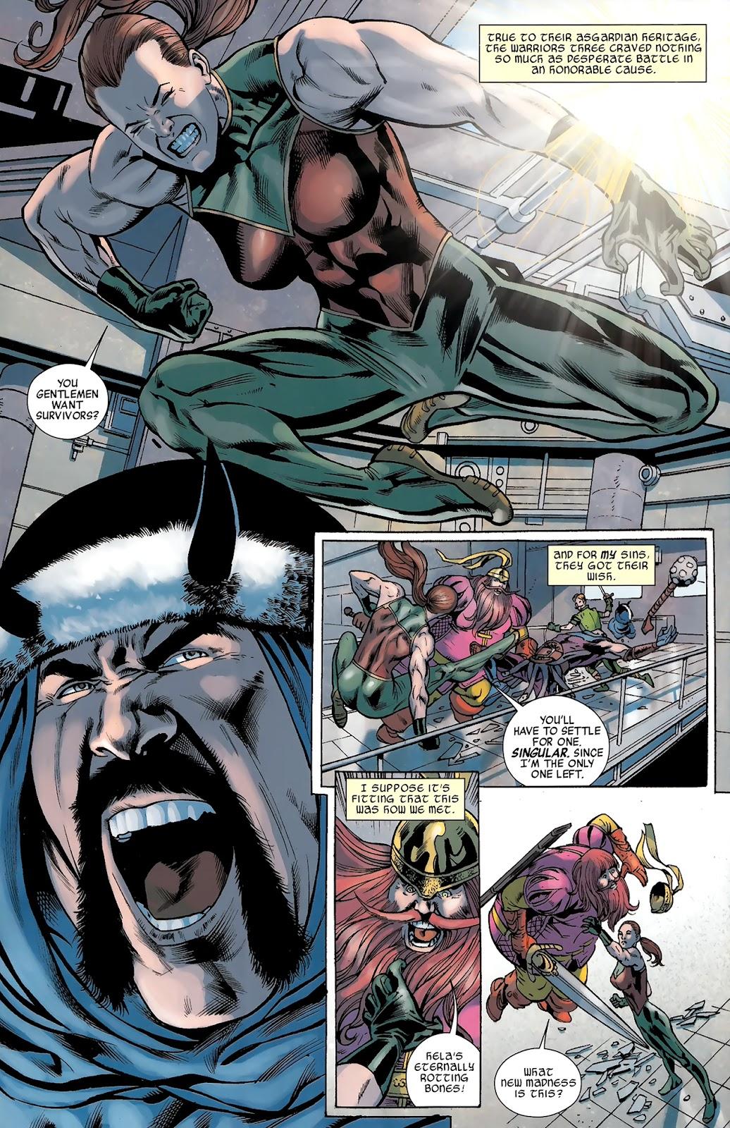 Warriors Three Issue #3 #3 - English 7