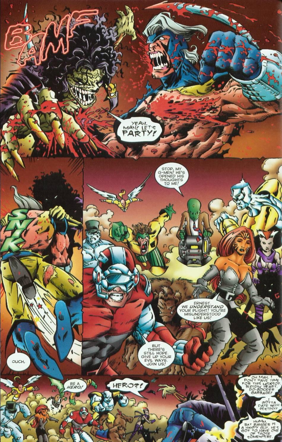 Read online Evil Ernie vs. the Superheroes comic -  Issue #1 - 18