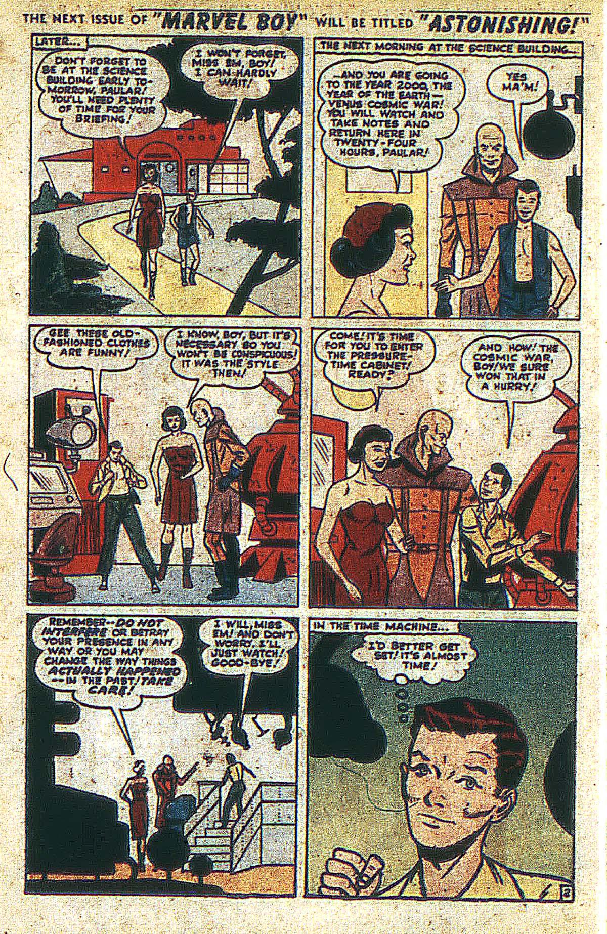 Read online Marvel Boy (1950) comic -  Issue #2 - 19