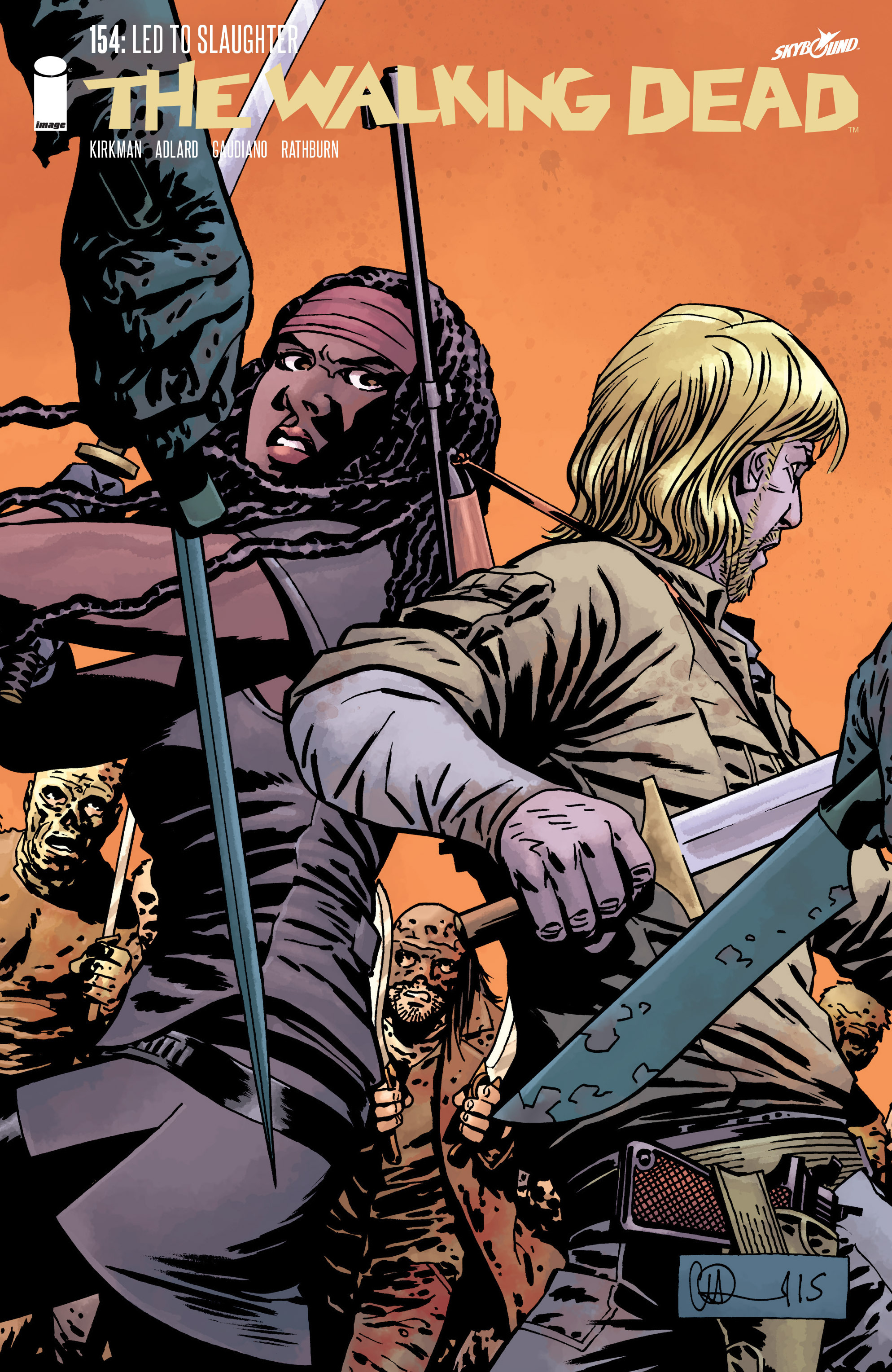 The Walking Dead 154 Page 1