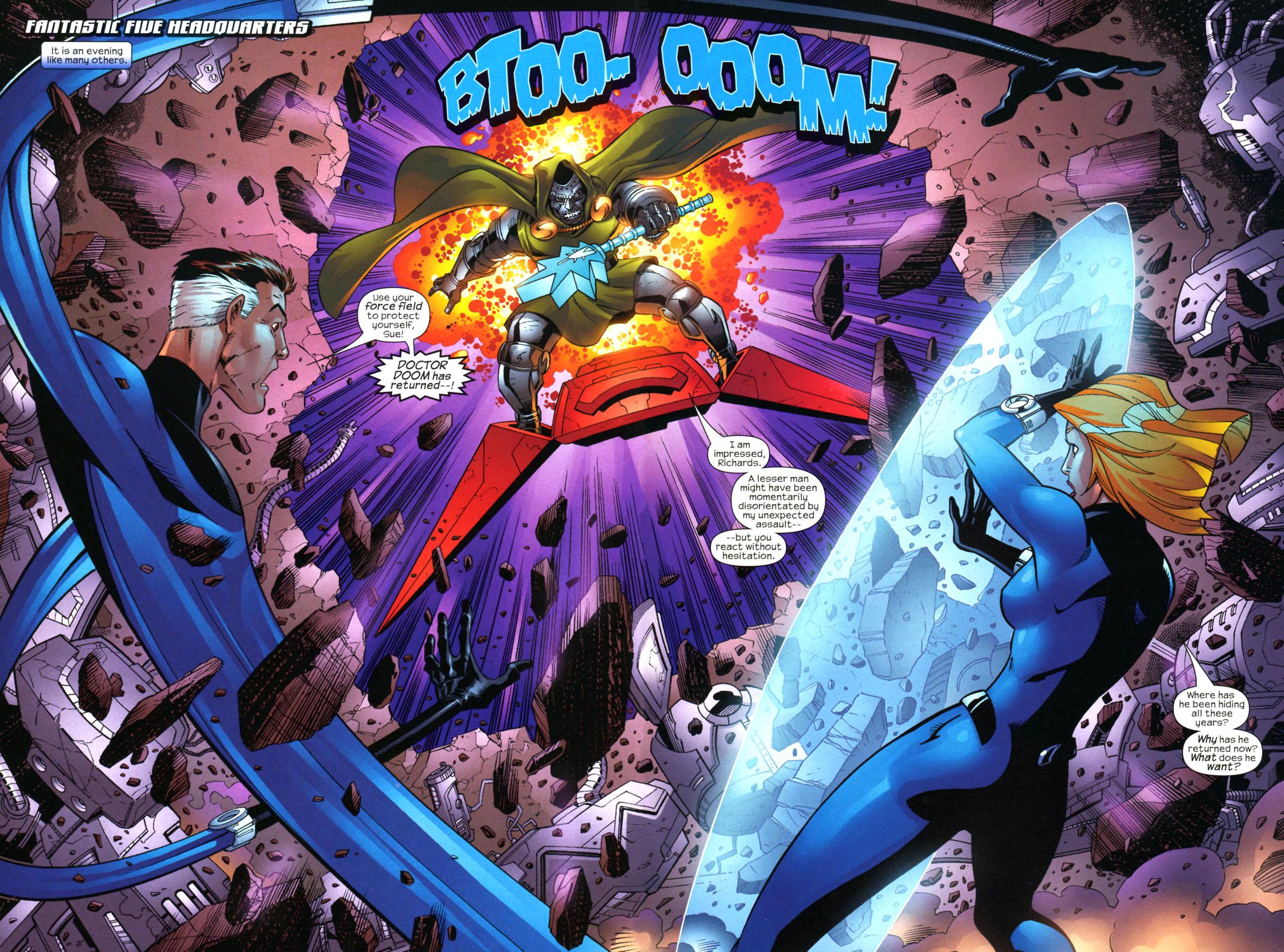 Read online Fantastic Five (2007) comic -  Issue #2 - 3
