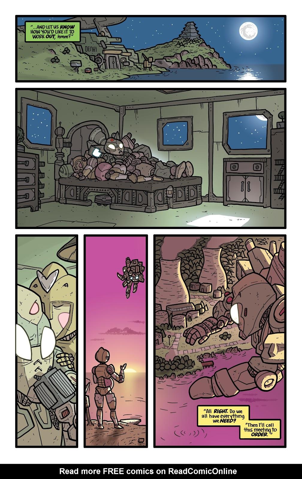 Read online Kaijumax: Season Four comic -  Issue #5 - 8