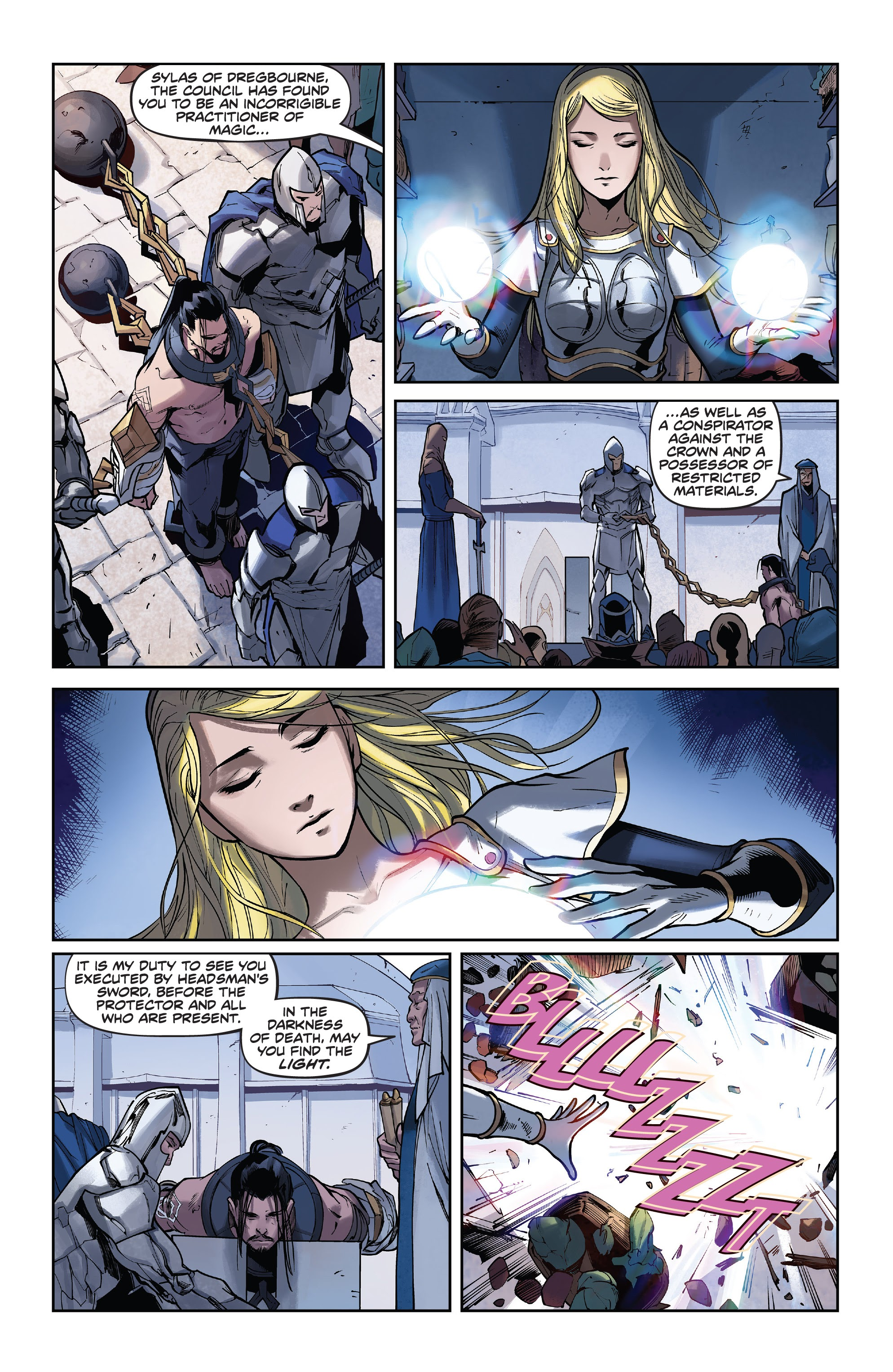 Read League Of Legends Lux Issue 3 Online Page 6
