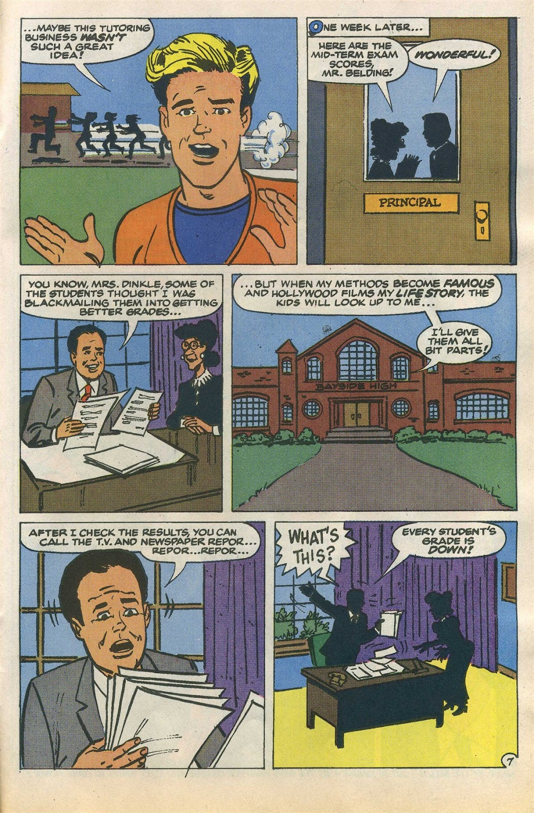 Read online Saved By The Bell comic -  Issue #1 - 28