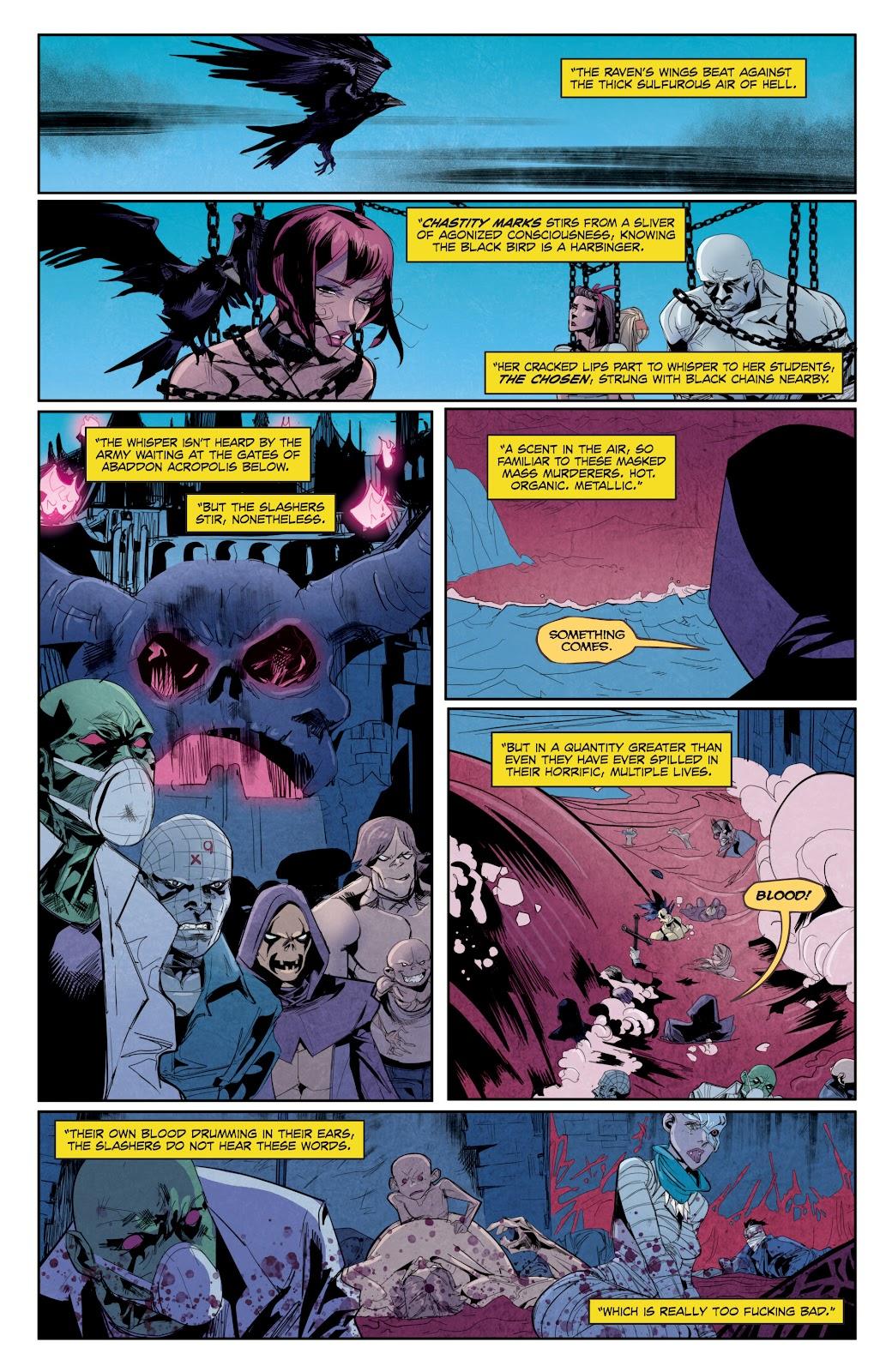 Read online Hack/Slash vs. Chaos comic -  Issue #5 - 5