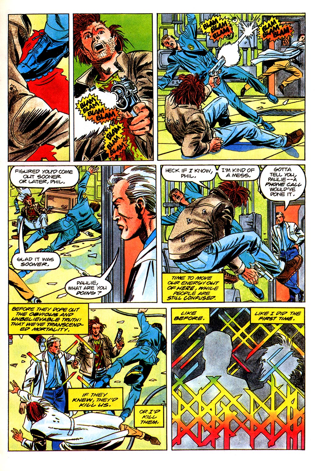 Read online Solar, Man of the Atom comic -  Issue #45 - 14
