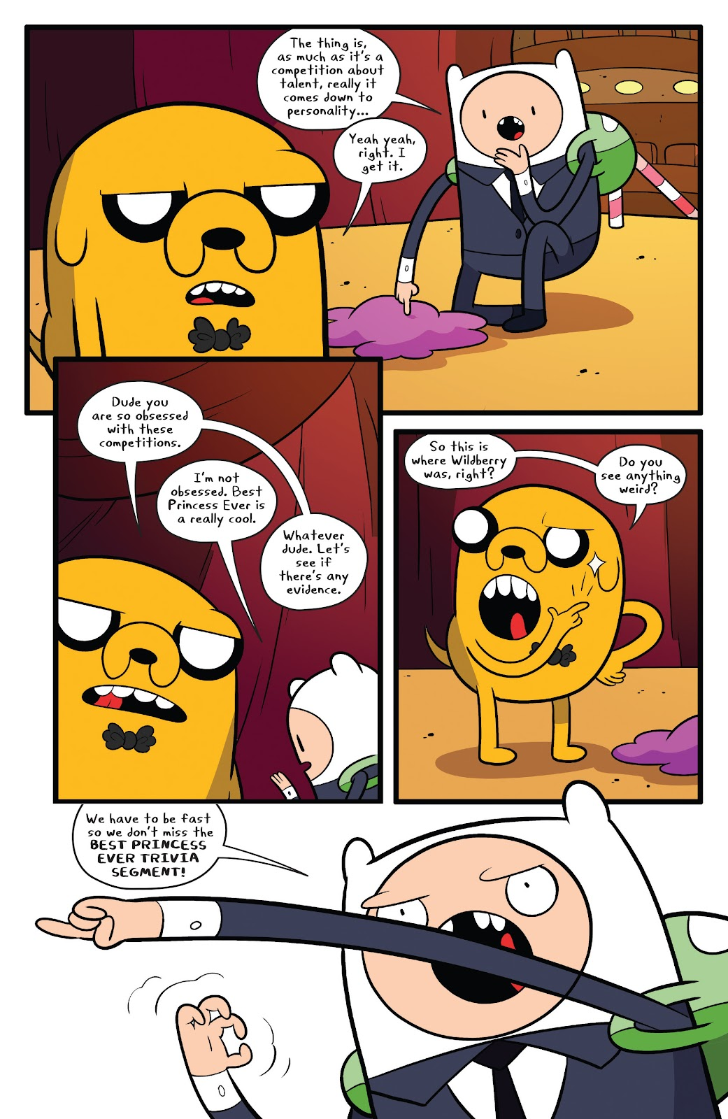 Read online Adventure Time comic -  Issue #63 - 11