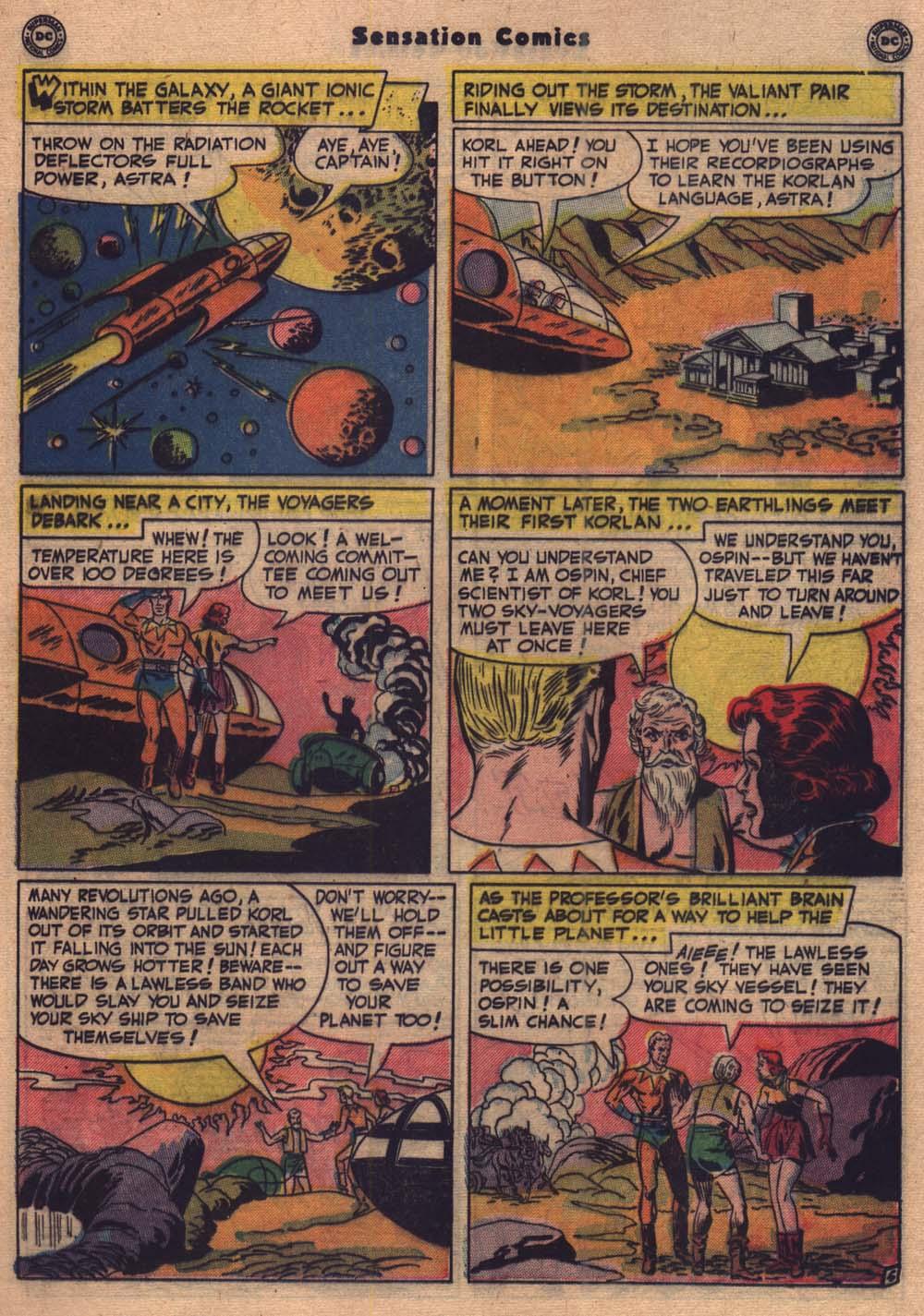 Read online Sensation (Mystery) Comics comic -  Issue #103 - 18