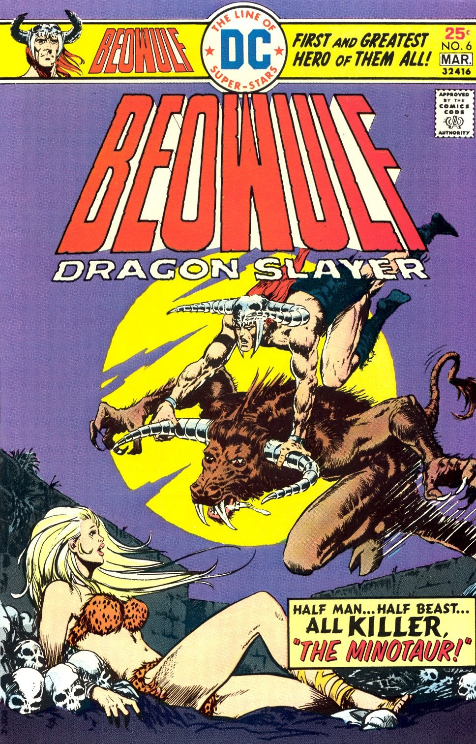 Beowulf (1975) issue 6 - Page 1