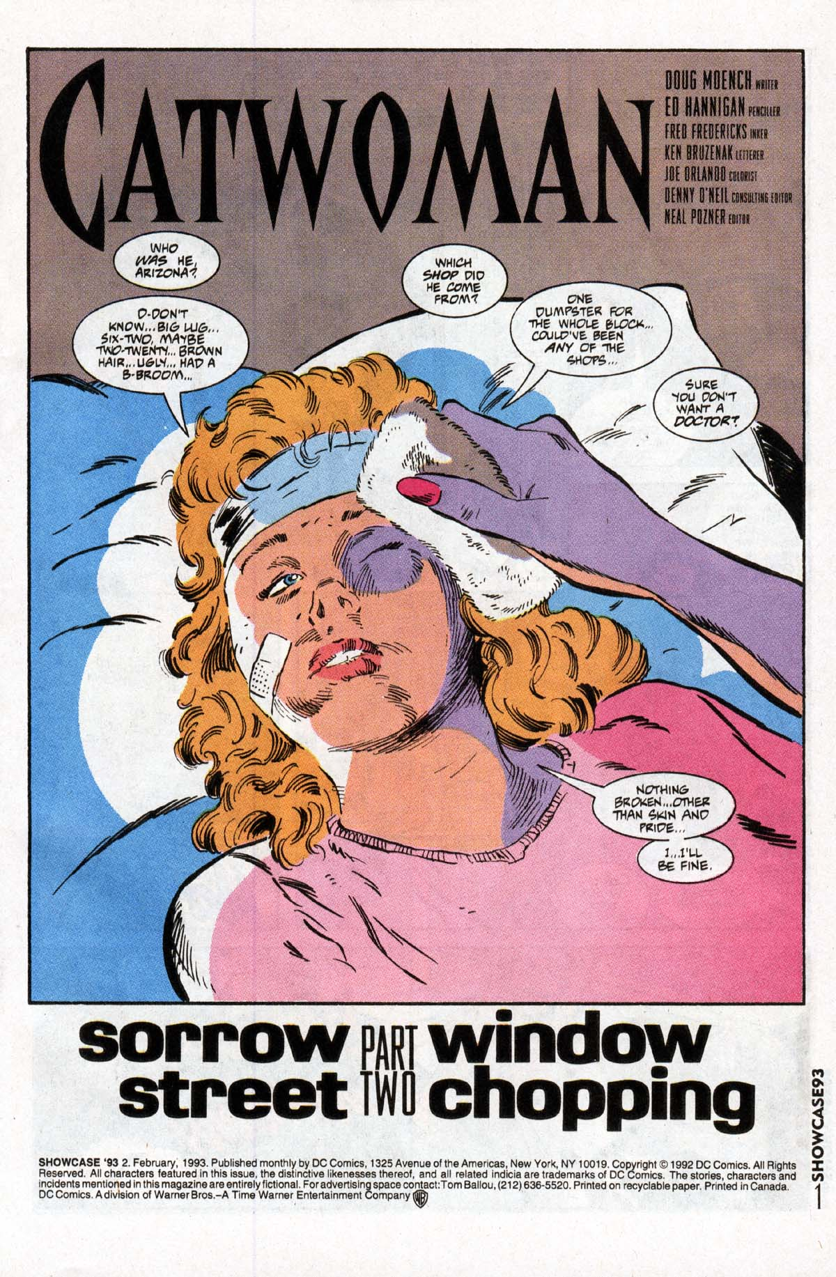 Read online Showcase '93 comic -  Issue #2 - 2