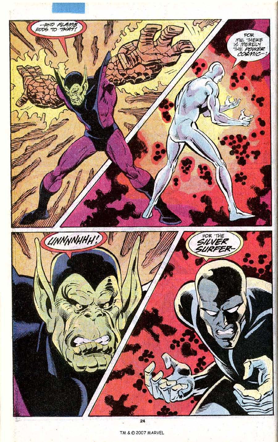 Read online Silver Surfer (1987) comic -  Issue # _Annual 1 - 26