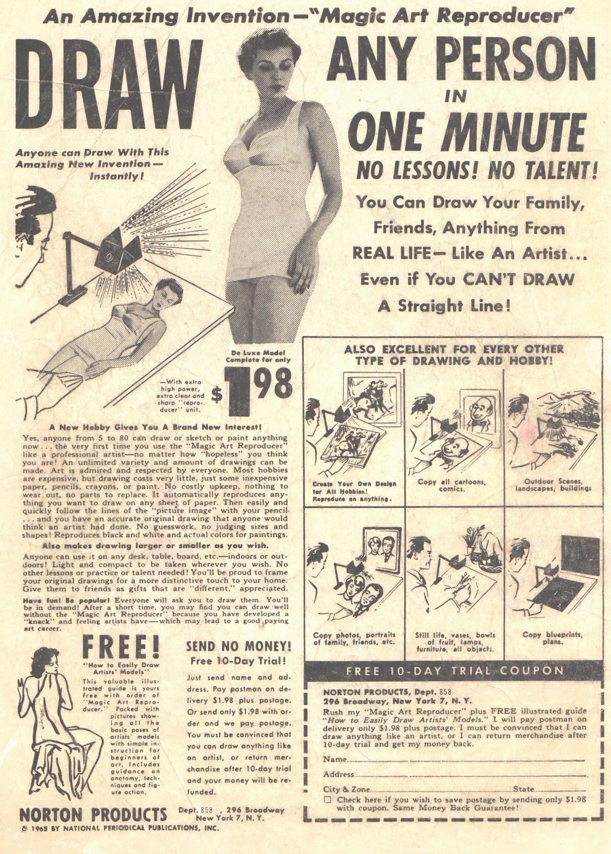 Read online Adventure Comics (1938) comic -  Issue #312 - 2