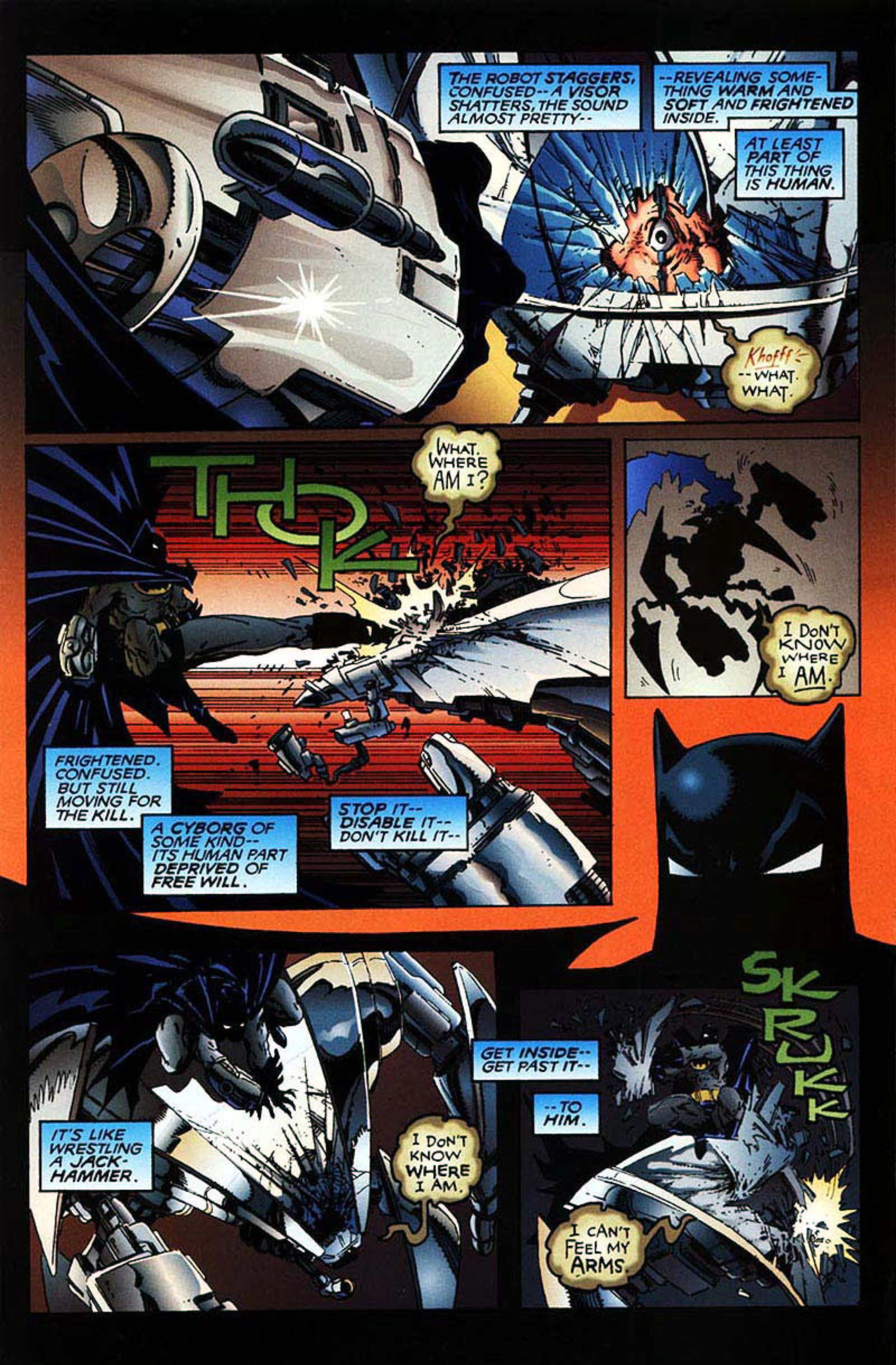 Read online Spawn-Batman comic -  Issue # Full - 8