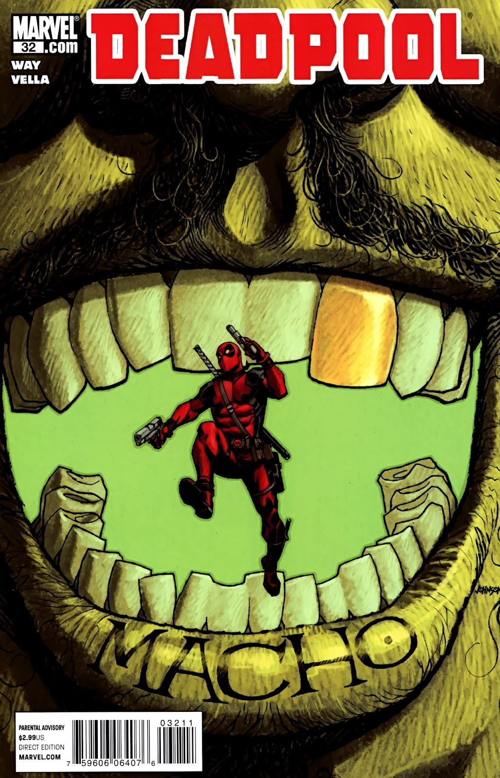 Read online Deadpool (2008) comic -  Issue #32 - 1