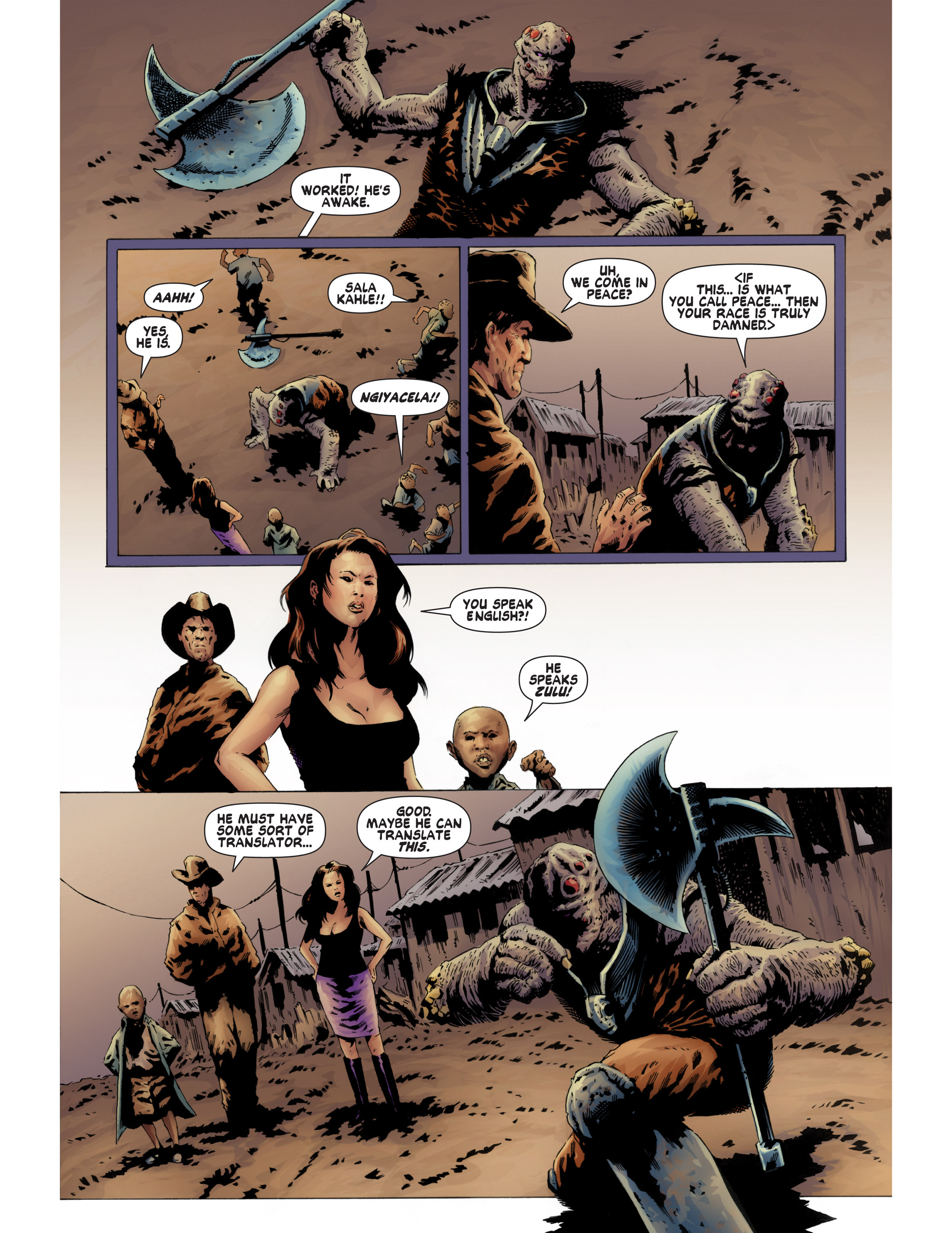 Read online Bad Planet comic -  Issue # TPB - 89