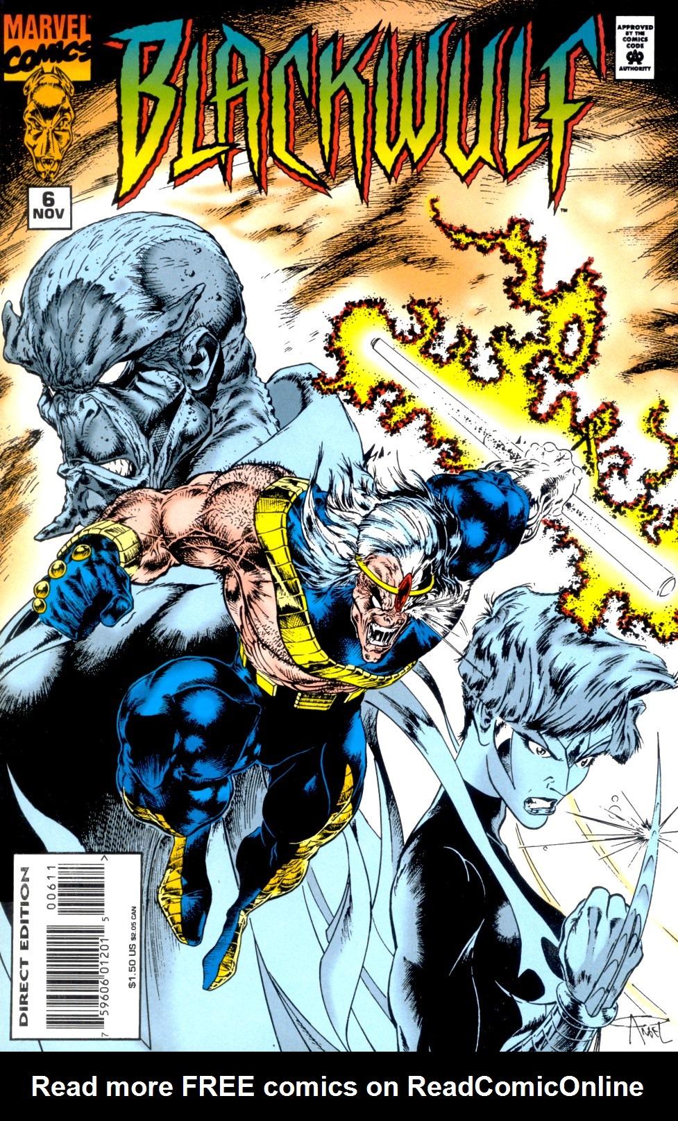 Read online Blackwulf comic -  Issue #6 - 1
