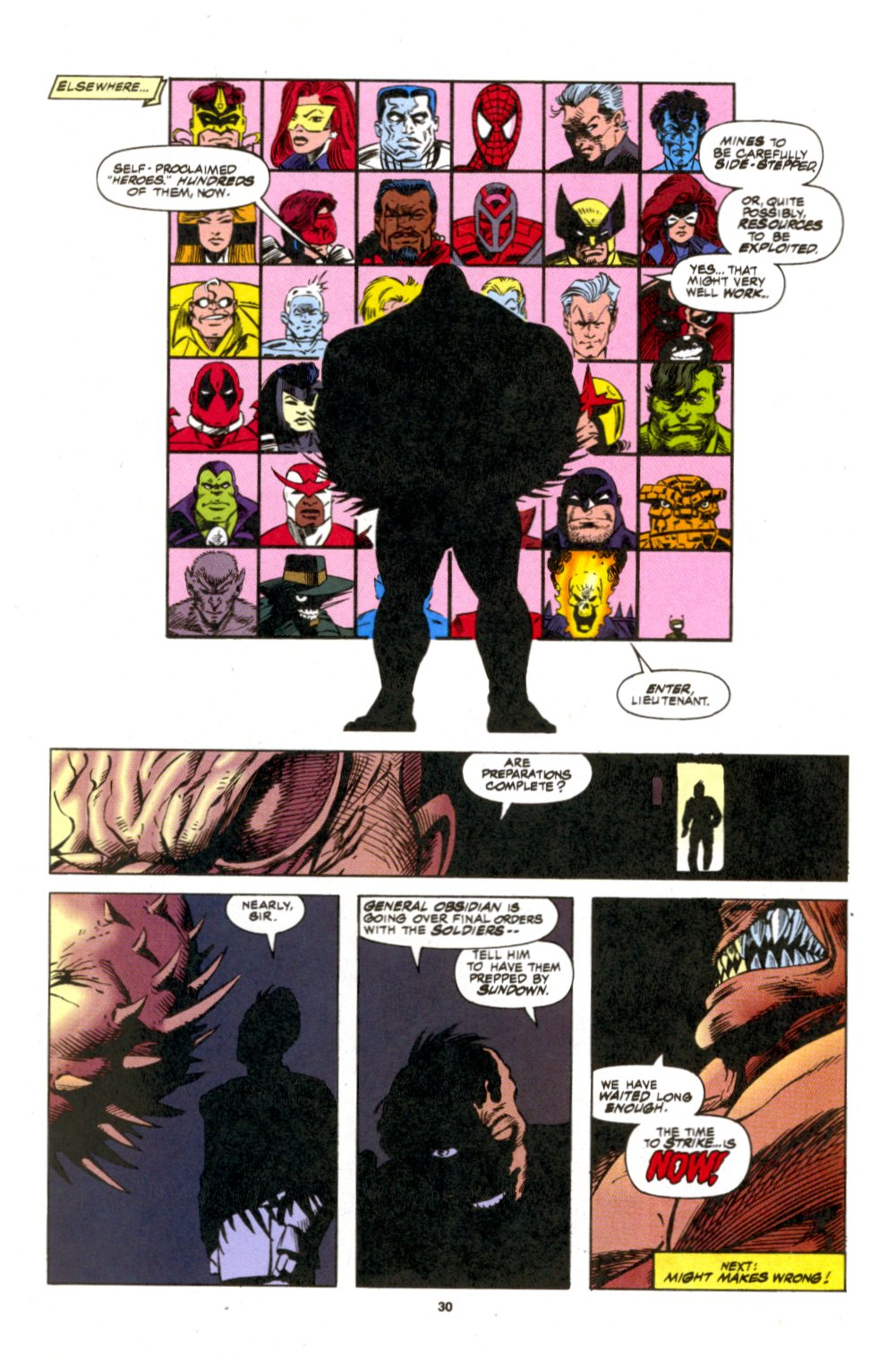 The New Warriors Issue #53 #57 - English 22