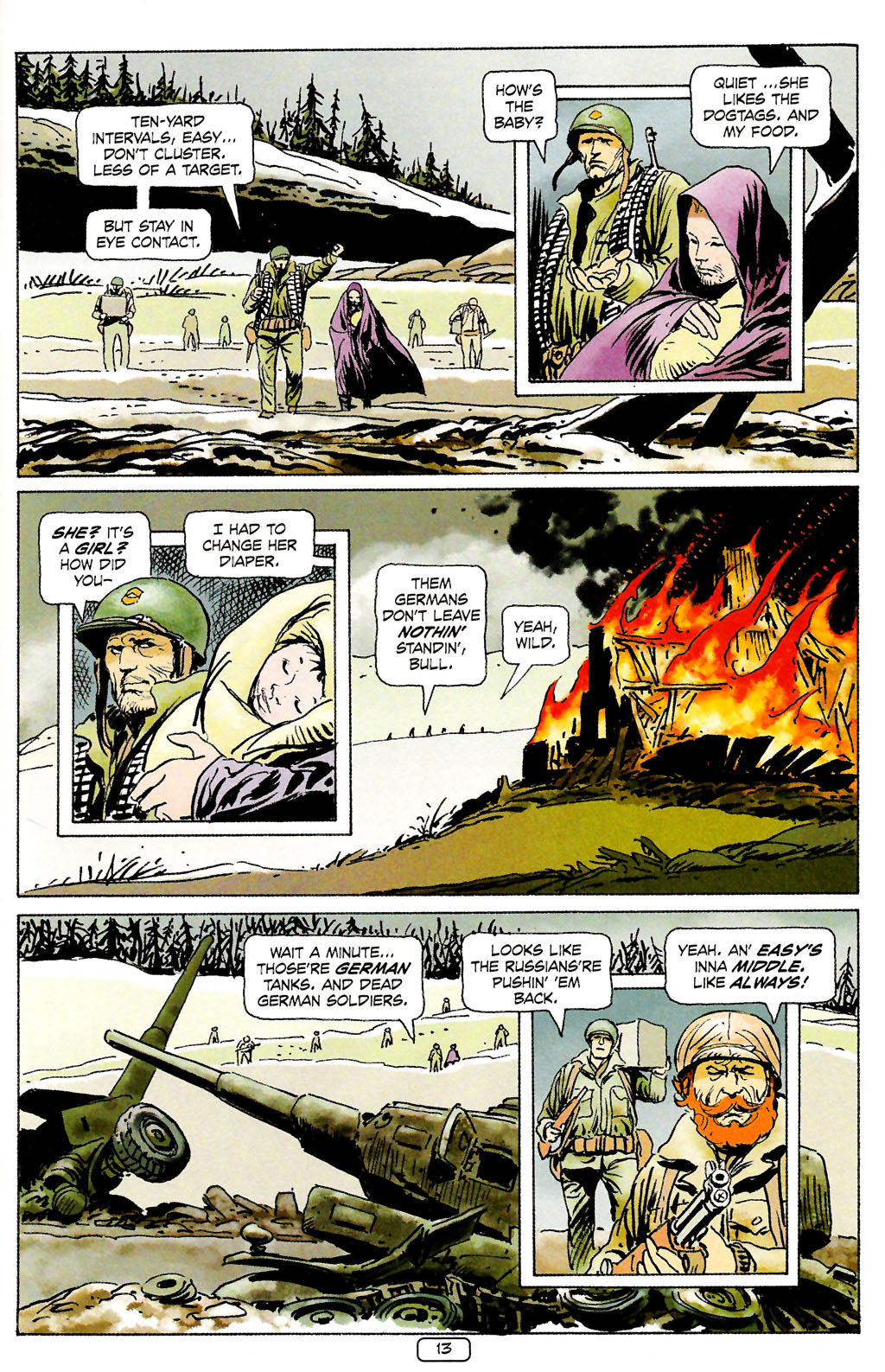 Read online Sgt. Rock: The Prophecy comic -  Issue #4 - 13