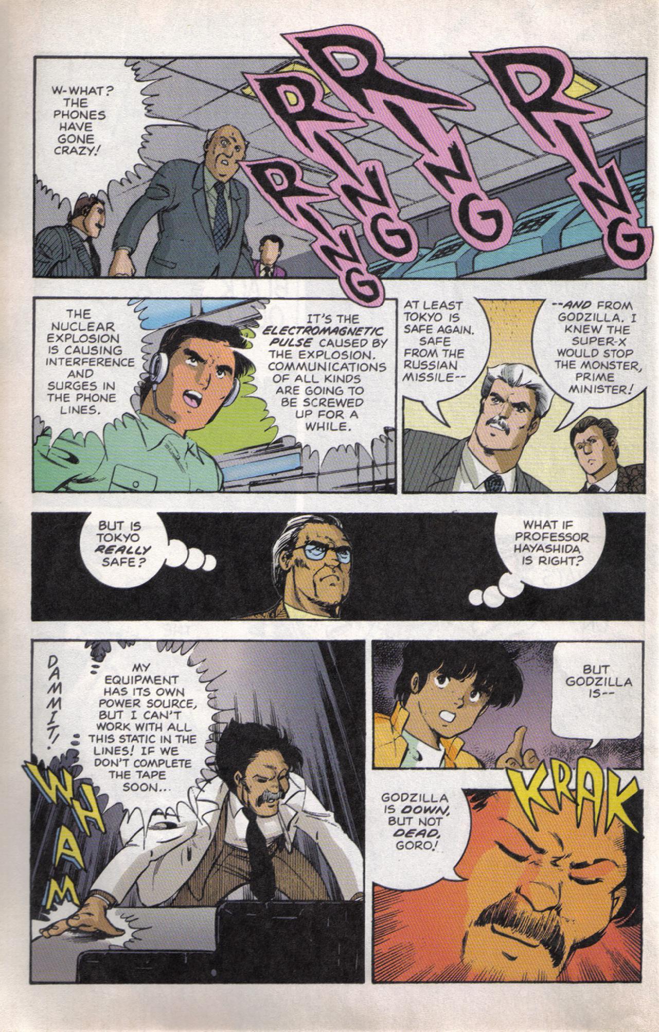 Read online Dark Horse Classics: Terror of Godzilla comic -  Issue #5 - 6