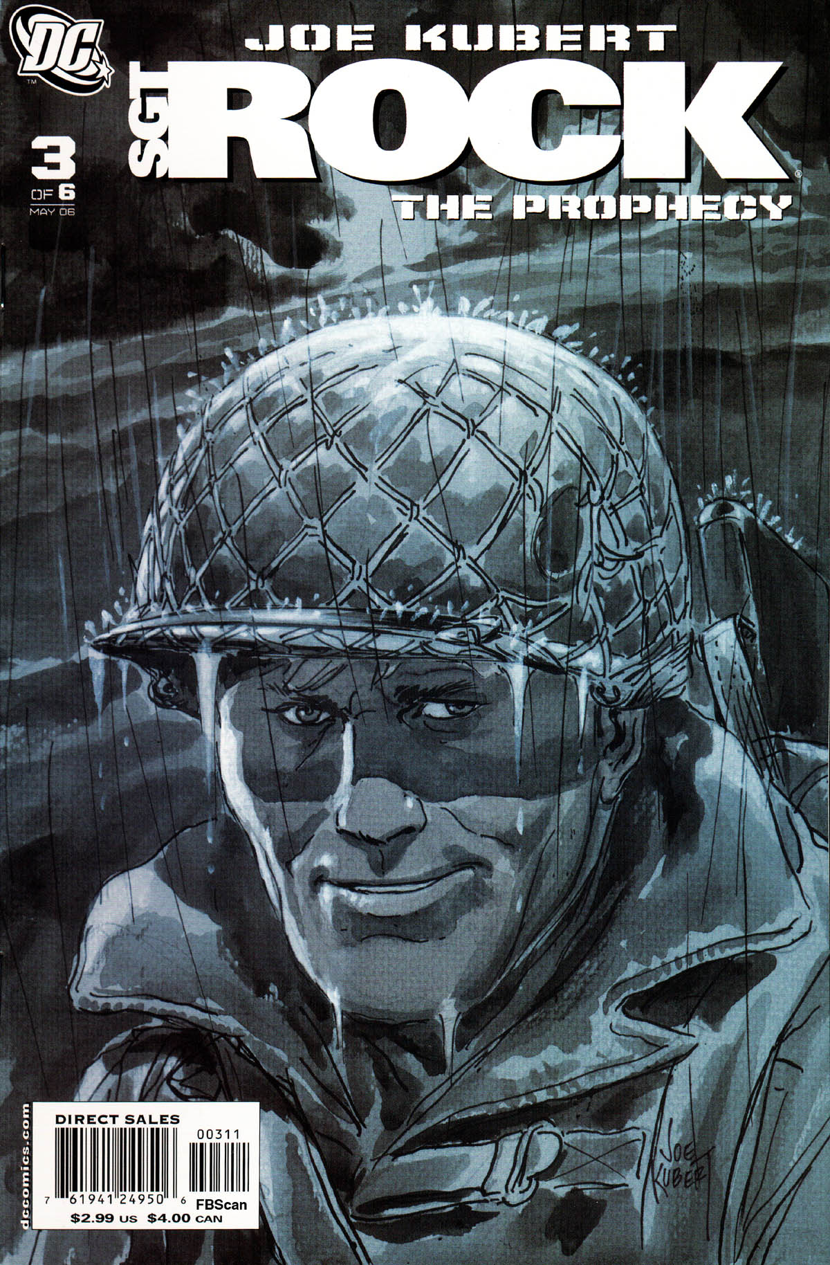 Read online Sgt. Rock: The Prophecy comic -  Issue #3 - 1
