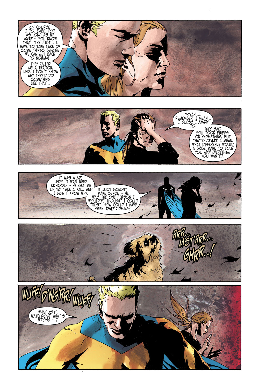 Read online Sentry (2000) comic -  Issue #5 - 13